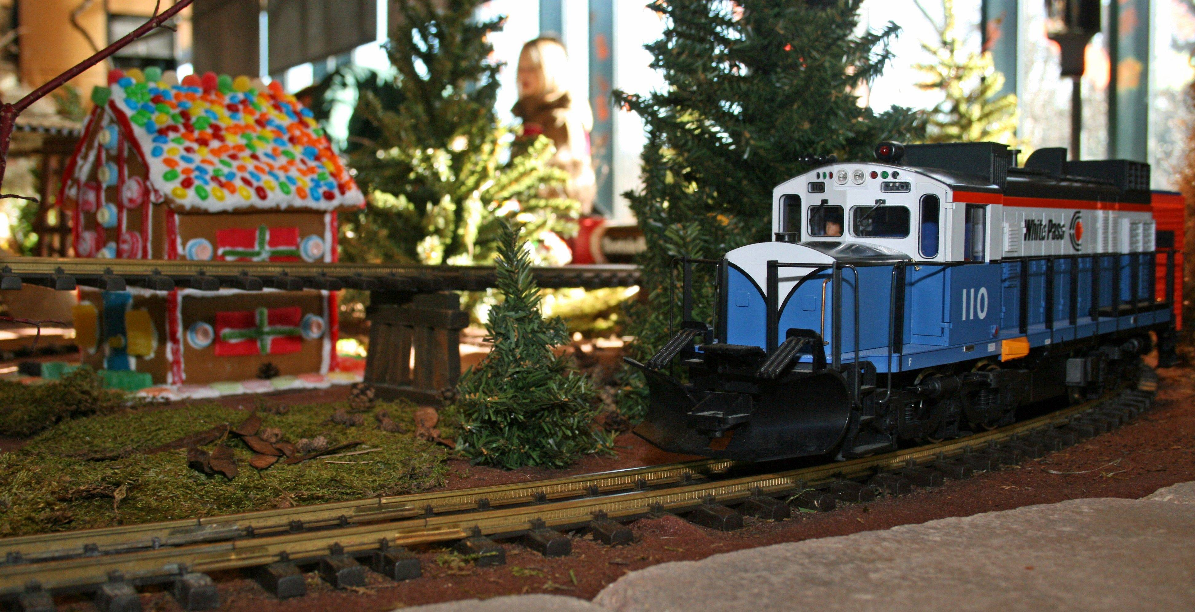 Visitors to Morton Arboretum can enjoy the new Enchanted Railroad model train display.