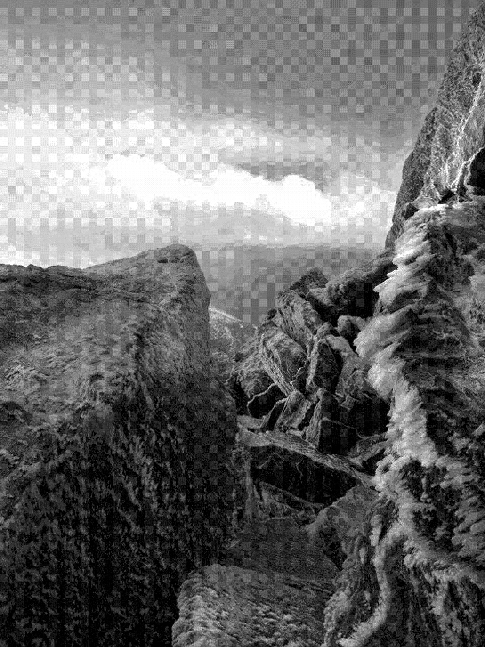 This photo was taken on Longs Peak in the Rocky Mountain National Park on a recent climbing trip.