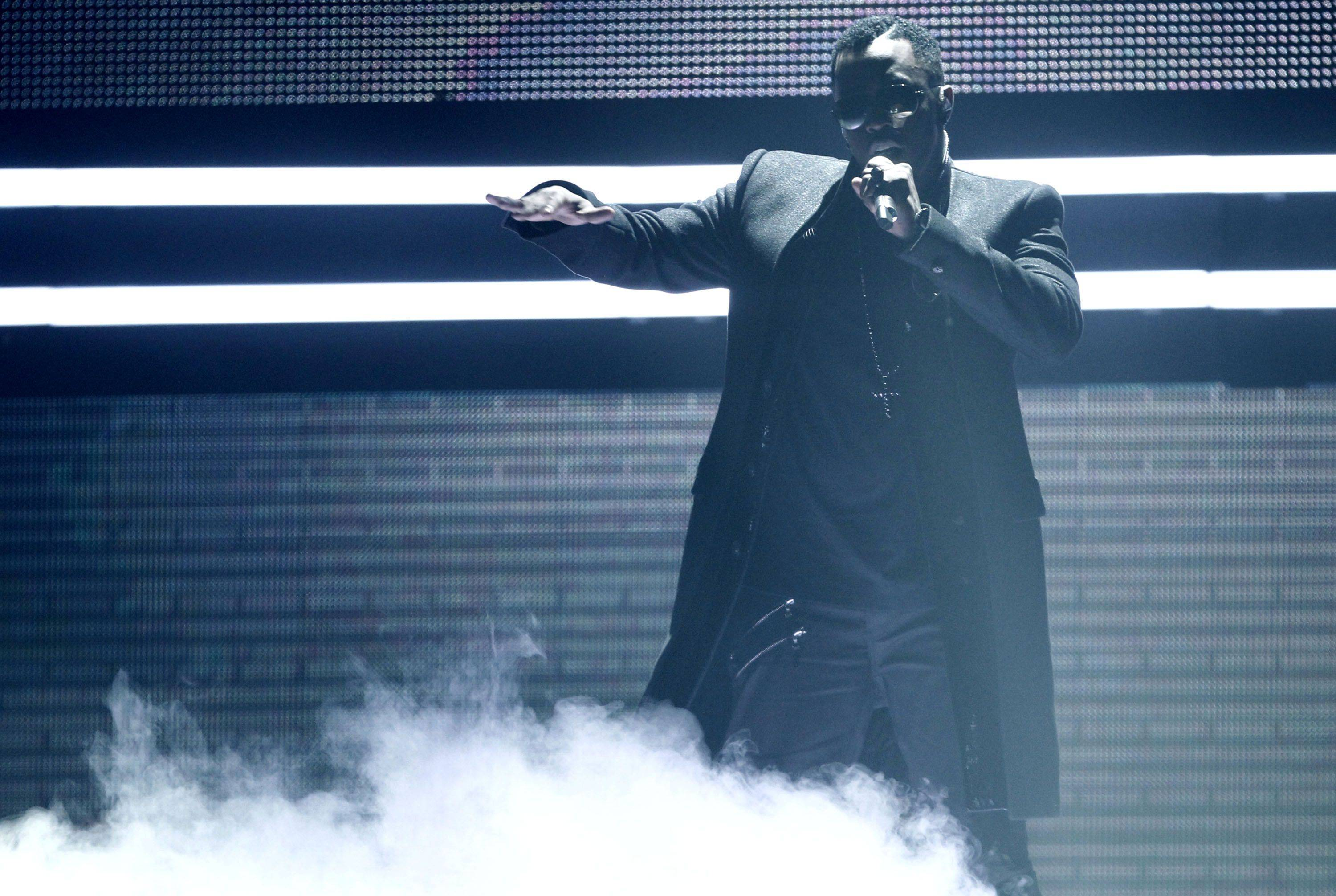 Sean Diddy Combs performs at the 38th Annual American Music Awards on Sunday, Nov. 21, 2010 in Los Angeles.
