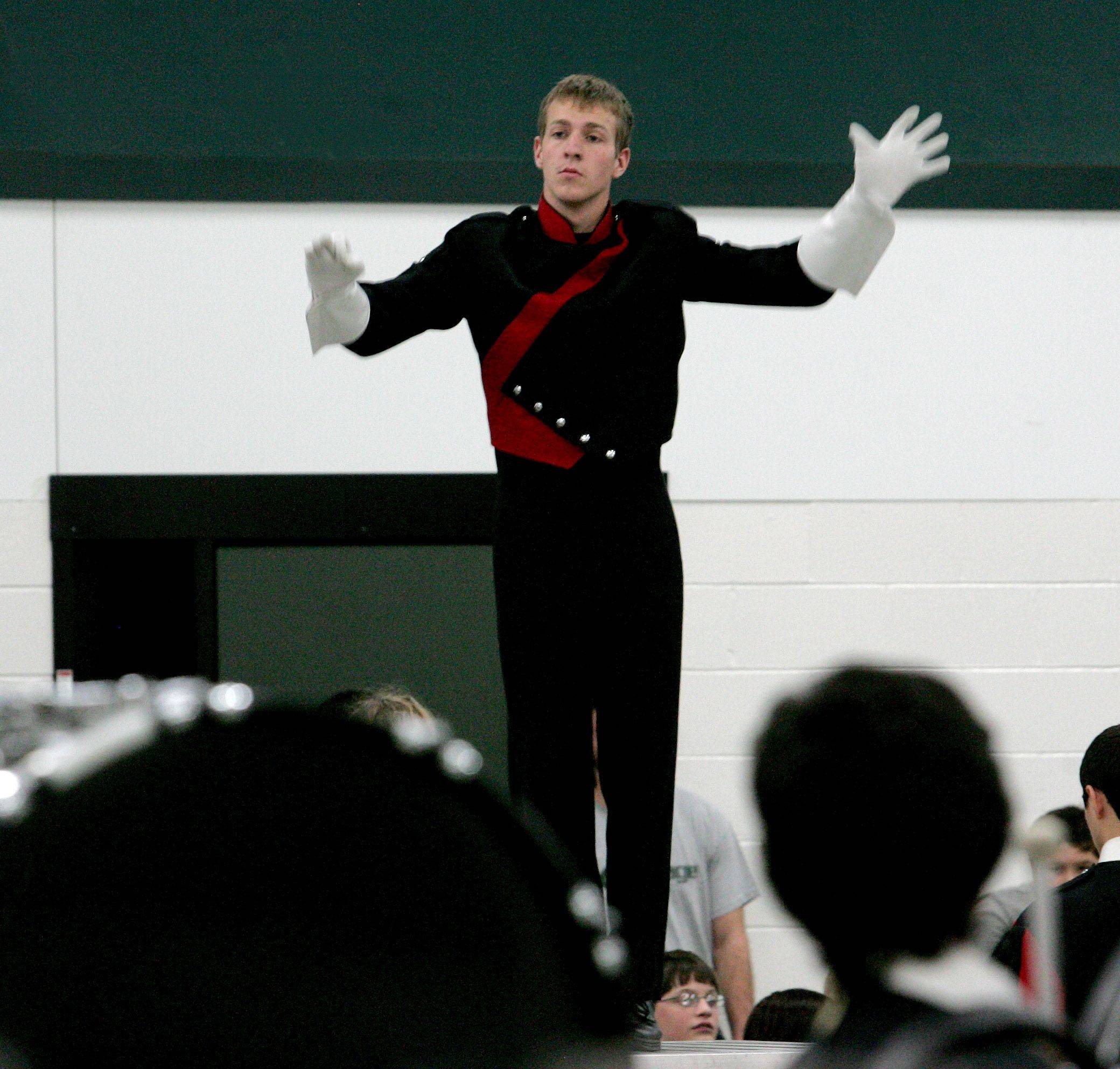 Naperville Central senior Alex Reeder will be one of two drum majors leading Macy's Great American Marching band in the Macy's Thanksgiving Day Parade.