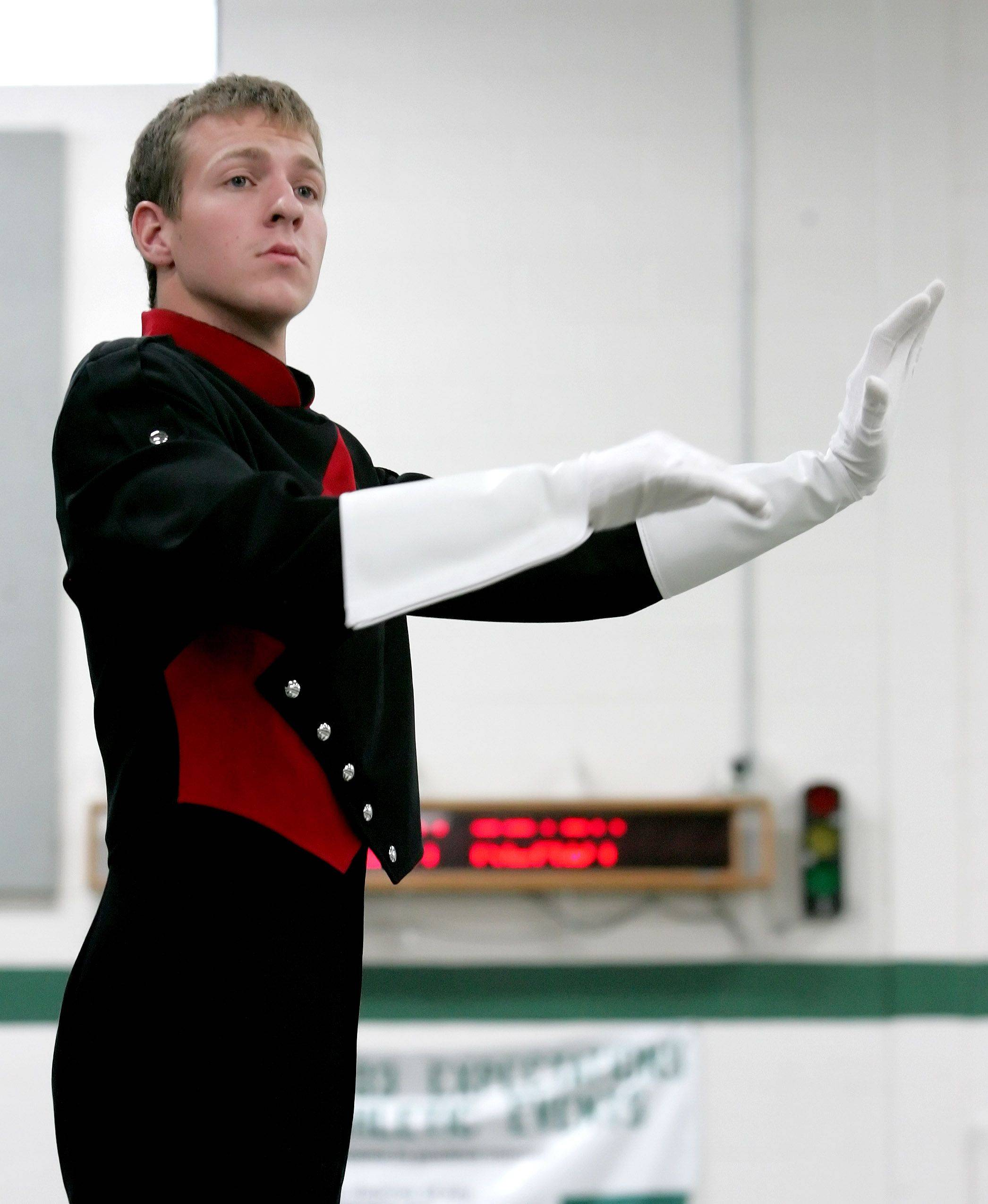 Naperville Central senior Alex Reeder will be one of two drum majors leading Macy's Thanksgiving Day Parade.