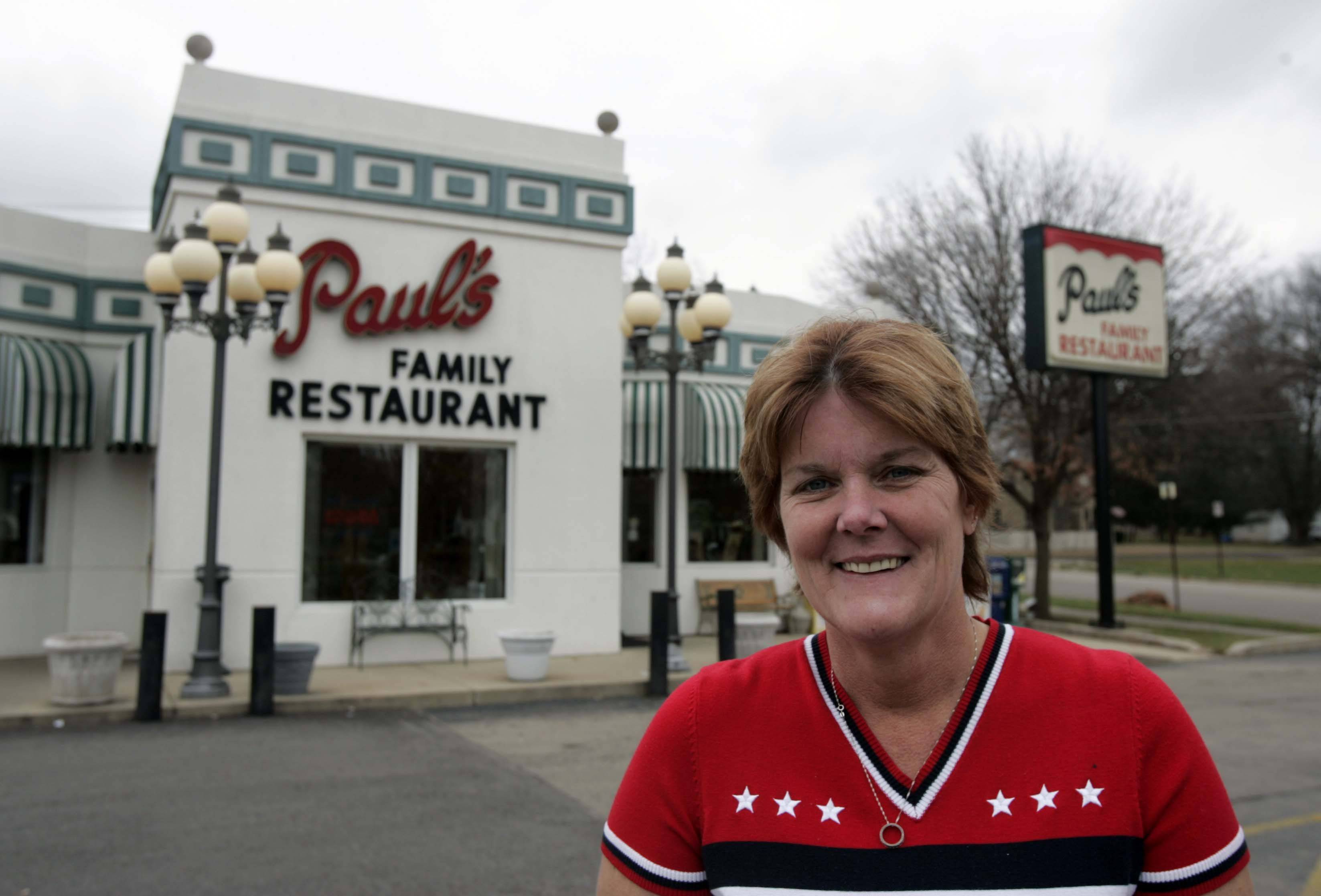 Lorrie Tucker, a waitress at Paul's Family Restaurant in Elgin, is collecting donations for the troops in Afghanistan. Her son-in-law is a serviceman. Tucker has collected and sent 47 pounds of candy to the troops and will be sending more than 300 toothbrushes as well.