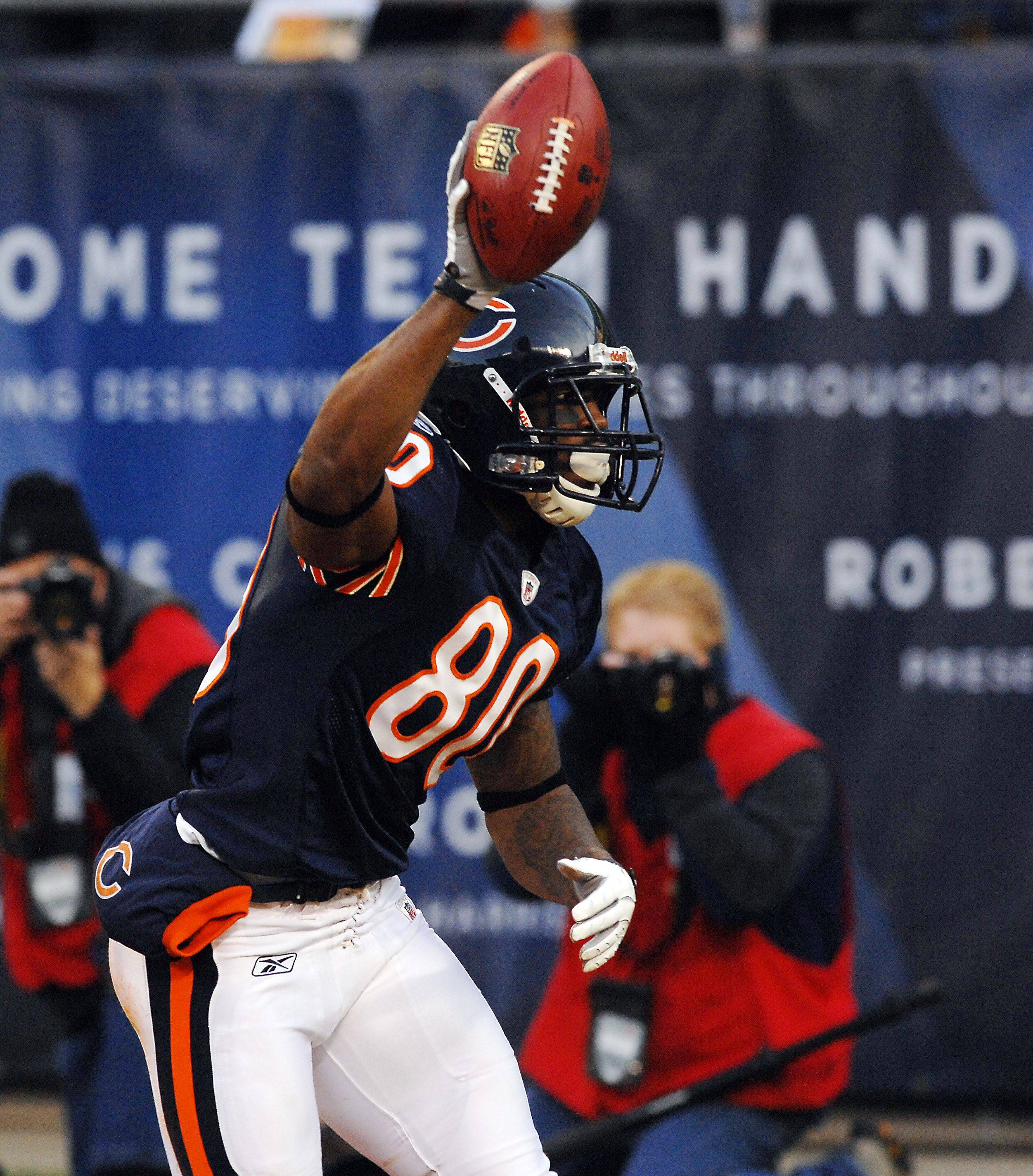 Wide receiver Earl Bennett and the Bears have much to celebrate these days, and still much to play for in the final five games.
