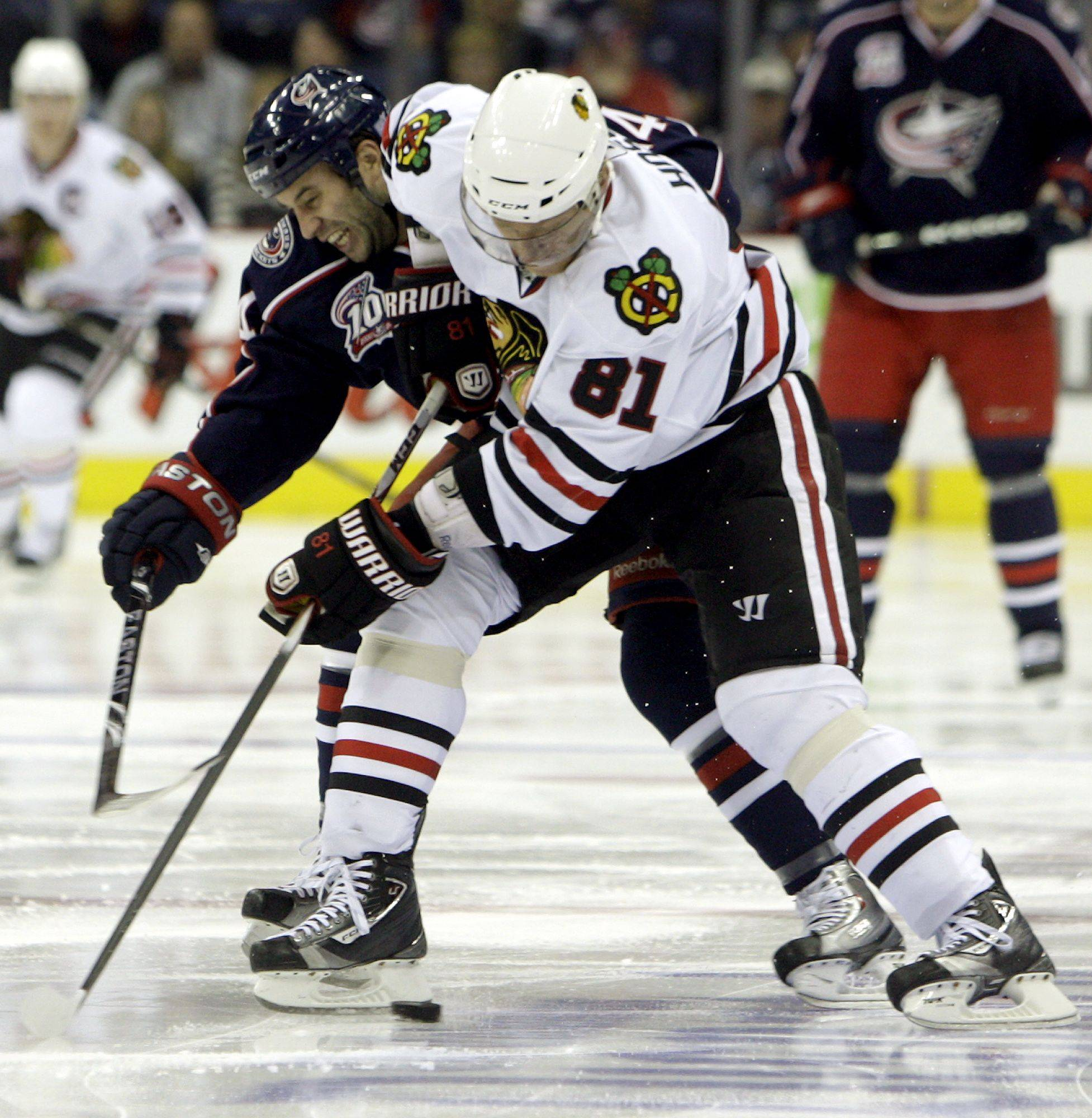 The Blackhawks will be without the services of Marian Hossa, who will be out 2-3 weeks with a lower-body injury. Hossa collided in practice Monday with teammate Nick Boynton. Hossa missed five games earlier this season.