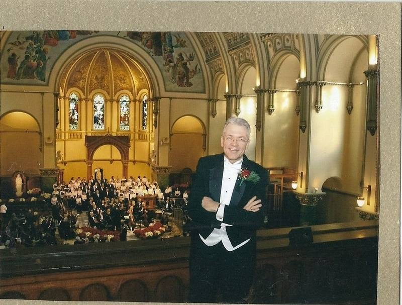 Sing along messiah comes to arlington heights church scott arkenberg music director at st james church in arlington heights will lead solutioingenieria Gallery