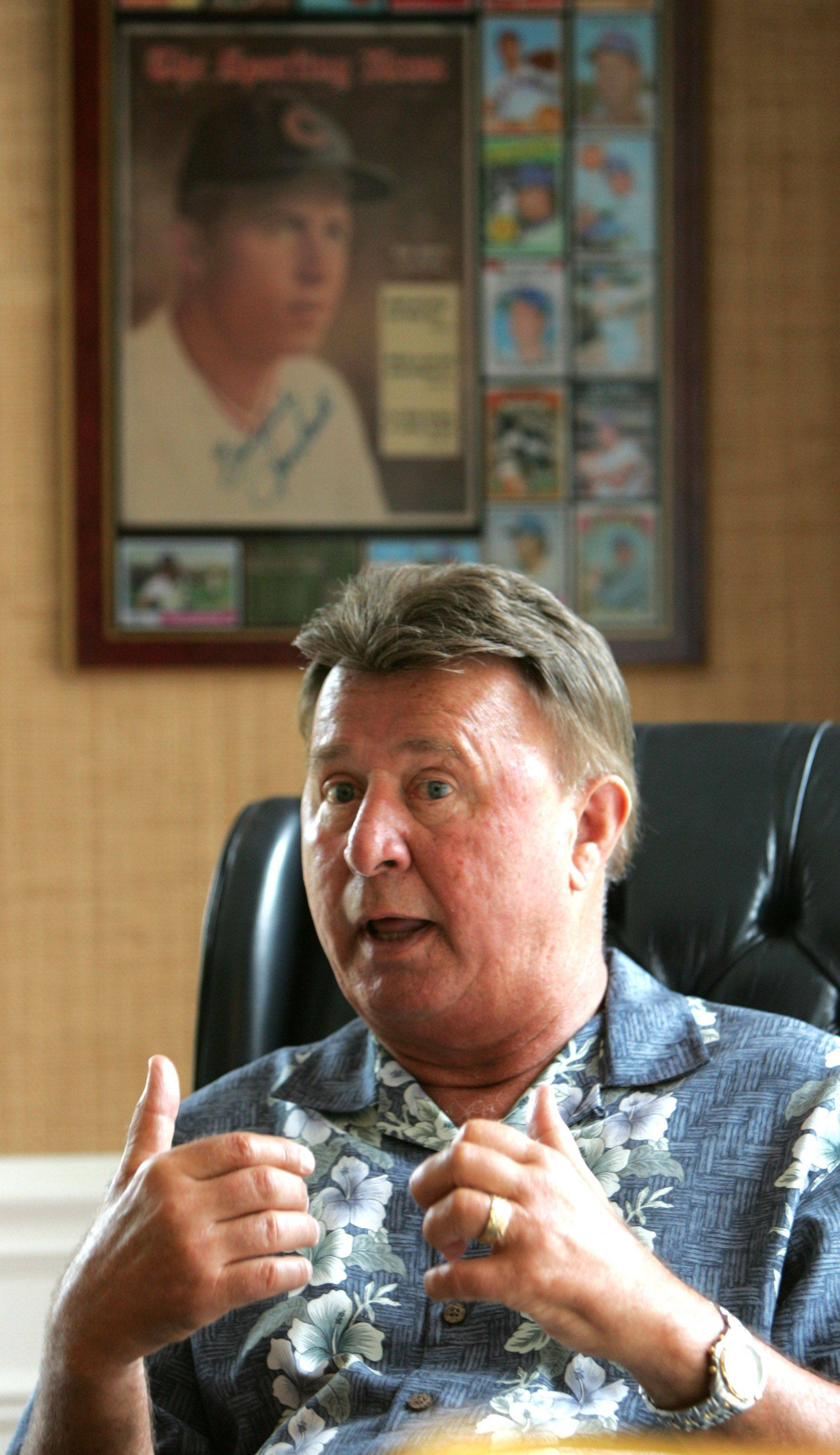 """This guy was just an unbelievable guy. You're never going to meet anybody in your lifetime  ever  like Ron Santo. He was without a doubt the toughest man I will ever meet in my life. Thom Brennaman, former radio broadcast partner on WMVP radio"