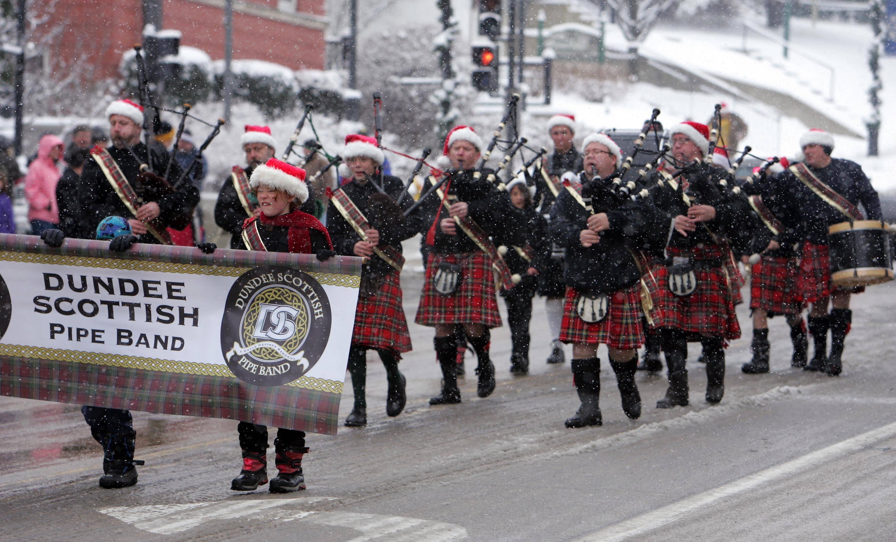 The Spirit of Christmas Parade in West Dundee Saturday, December 4, 2010.