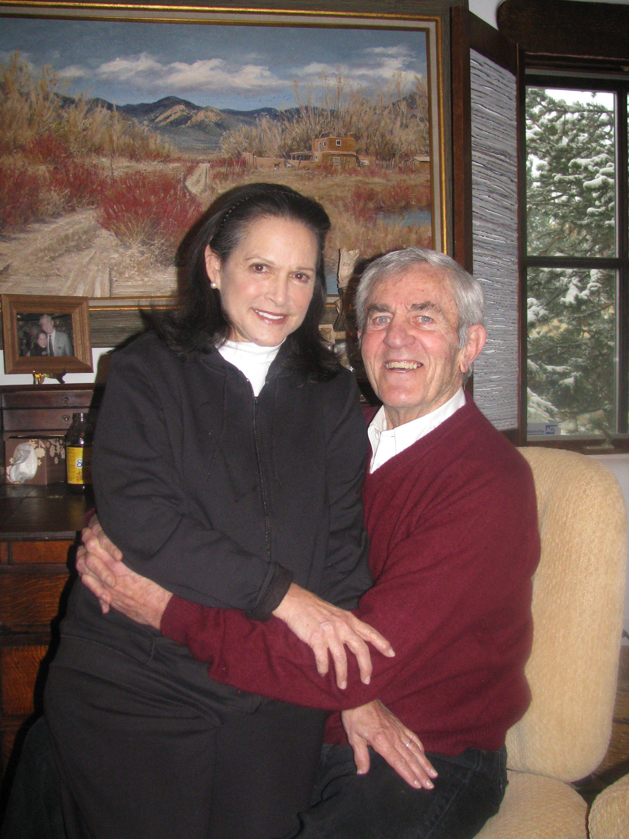 This photo made Oct. 28, 2009, shows Don Meredith and his wife, Susan, in Santa Fe, N.M.