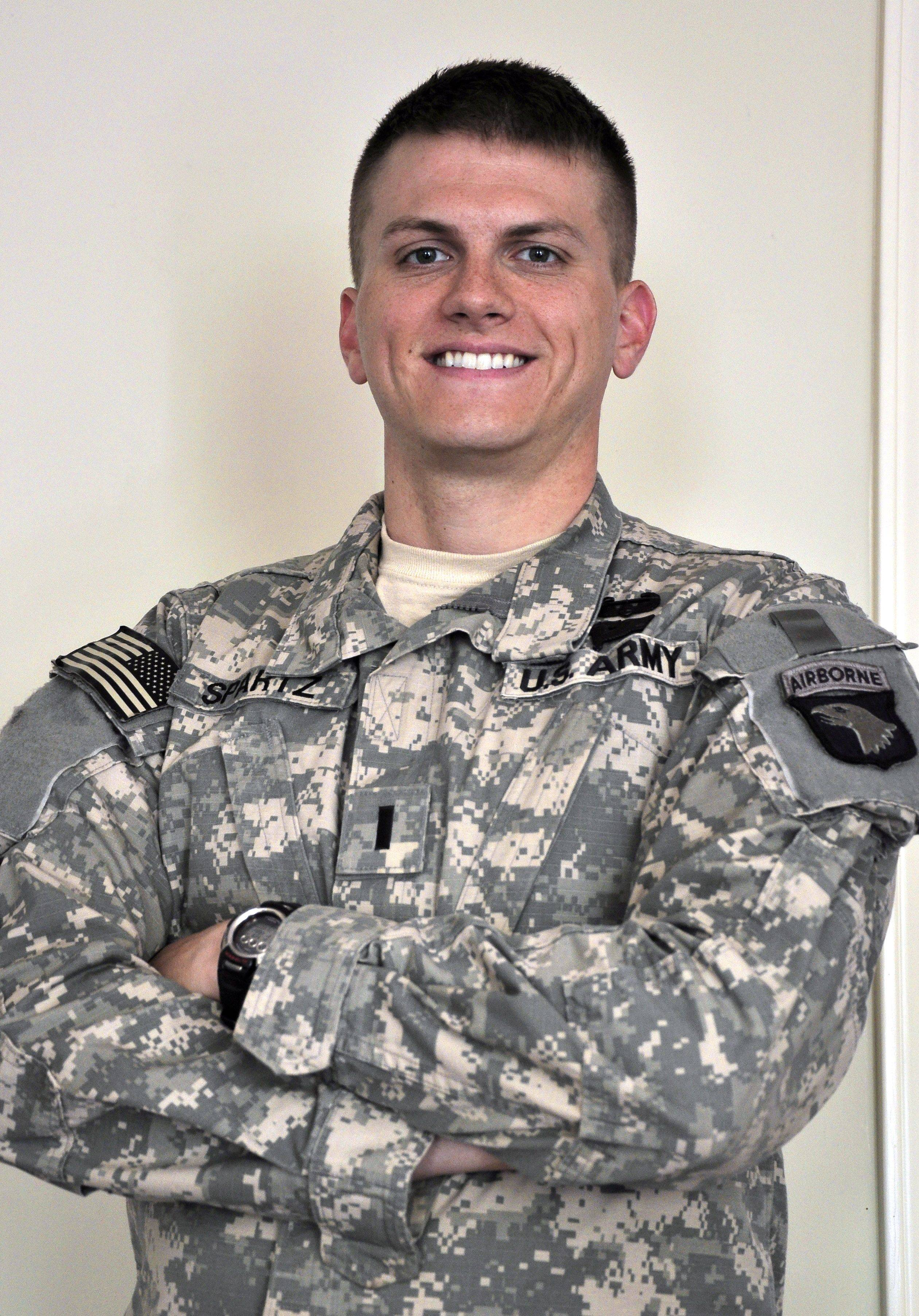 Matt Spartz: Lombard soldier wrote about his experiences in Afghanistan.
