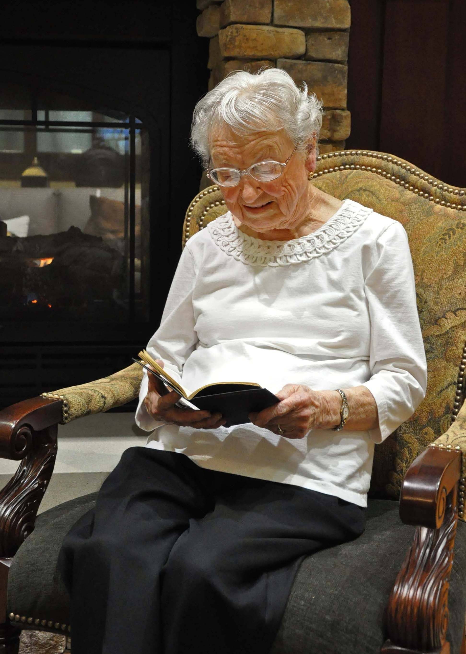 Batavia author Barbara Lytle, in her 90s, has published stories about her life, including details of her mission trips to West Africa.