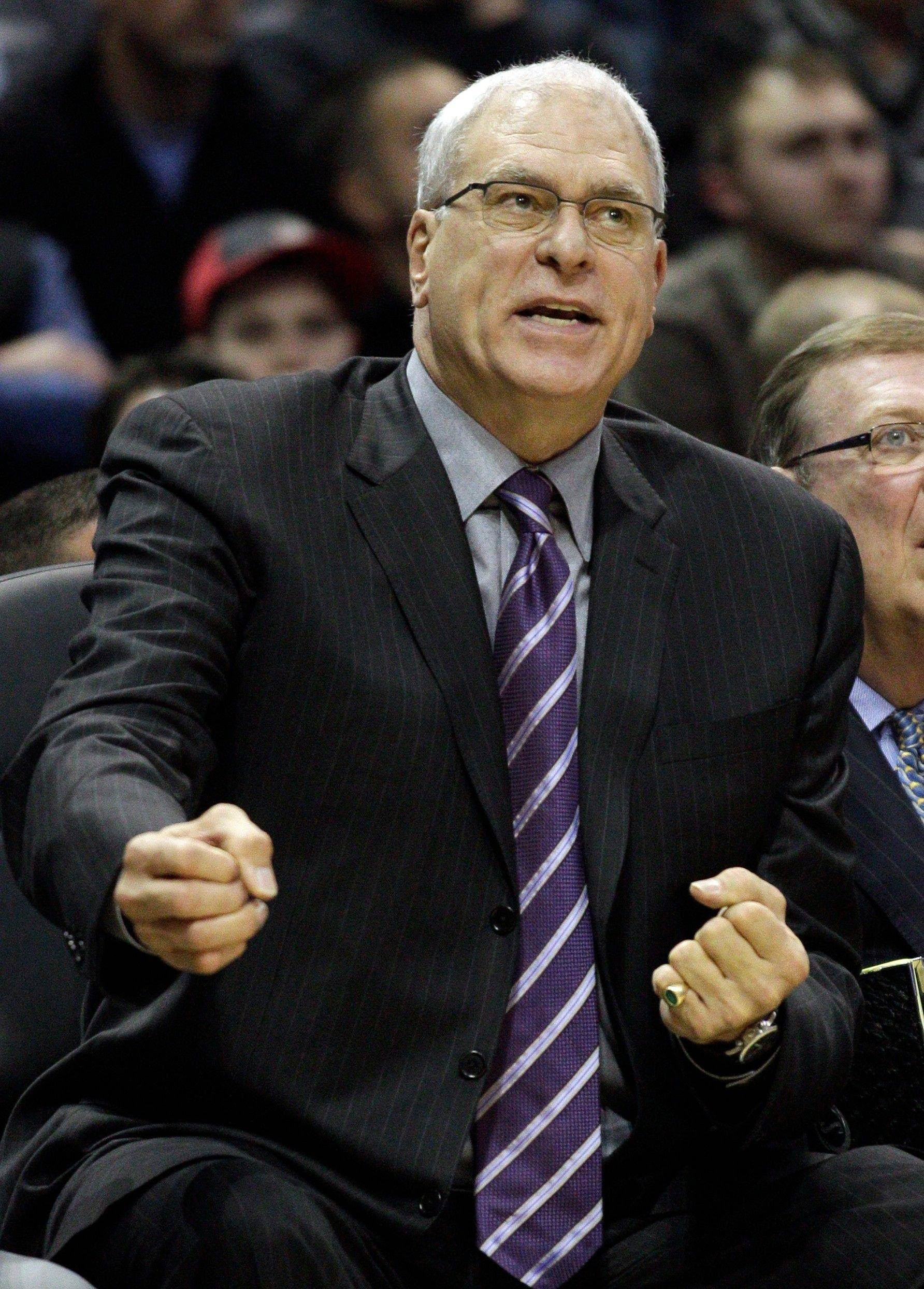 The Los Angeles Lakers and head coach Phil Jackson have beaten the Bulls the last seven times the teams have met.