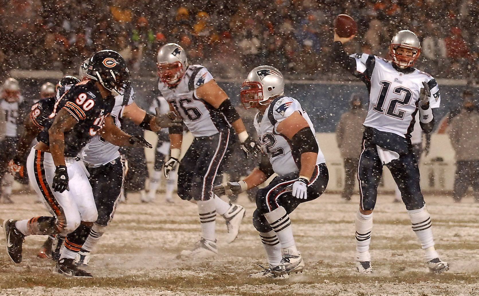 Brady heats up in the brutal cold