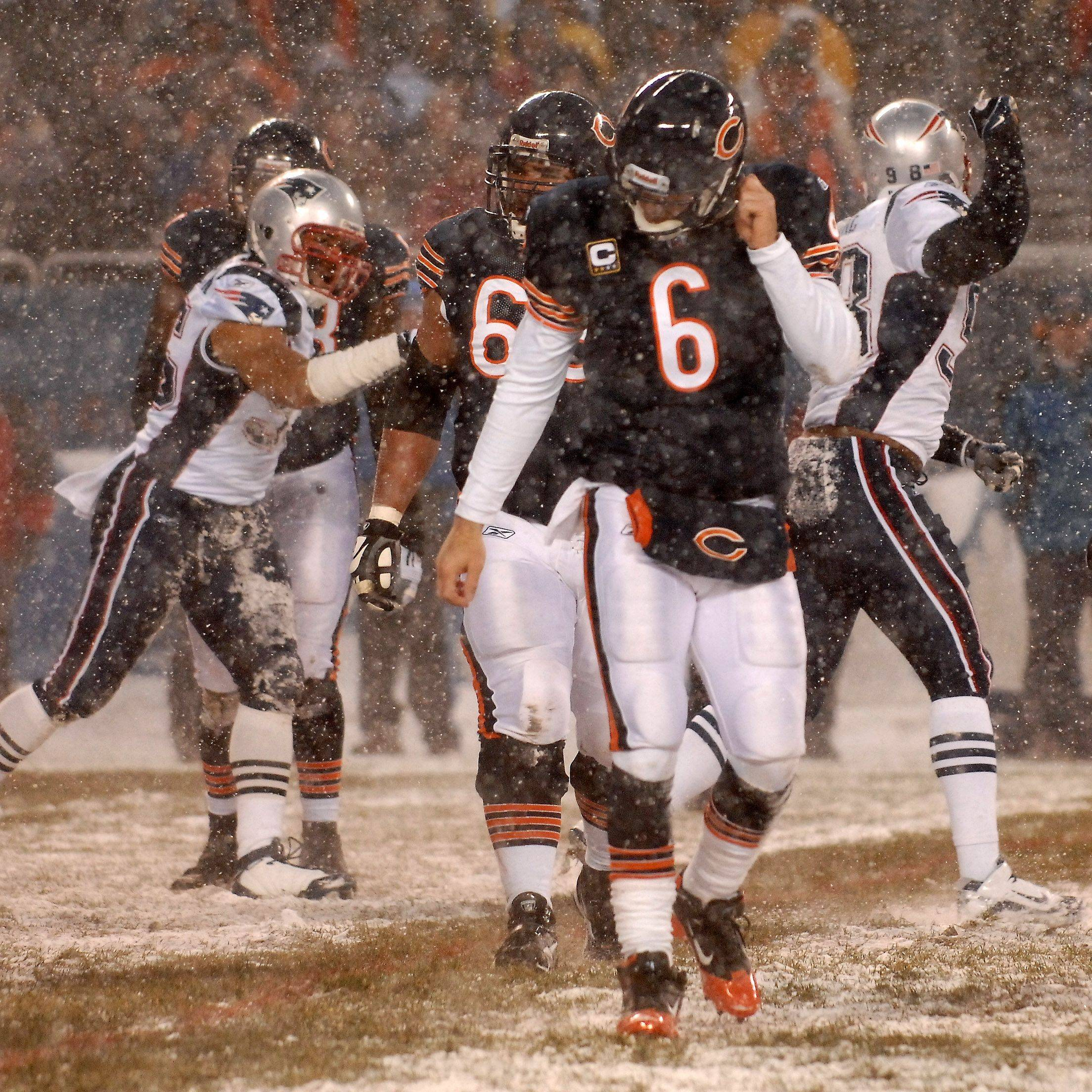 Weather or not, Bears simply outclassed by Pats