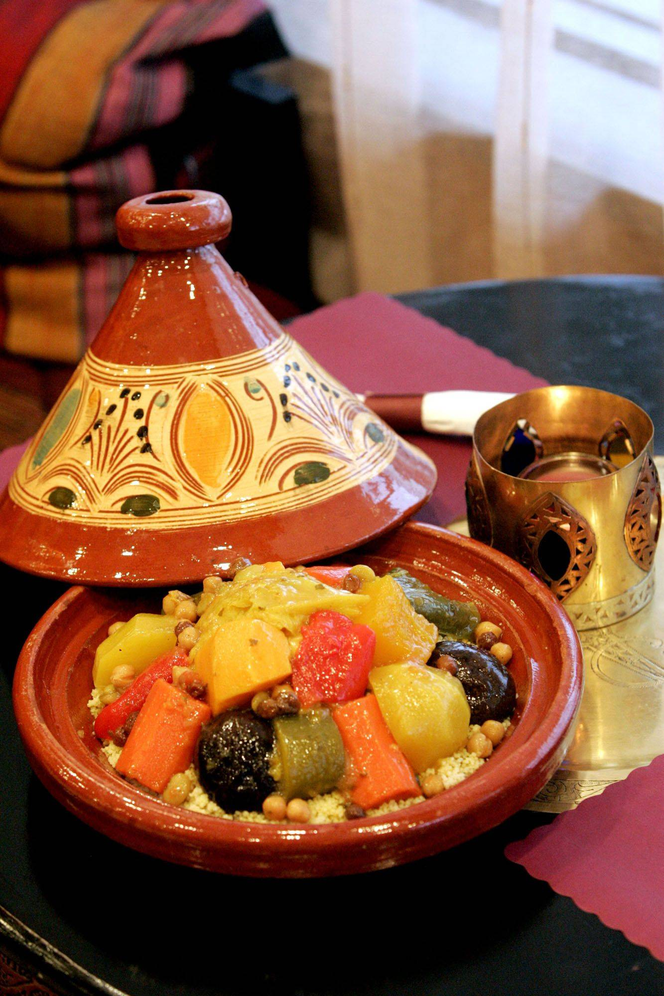 Hearty flavors come together in the Moroccan dishes at Tajine Casablanca in Vernon Hills.