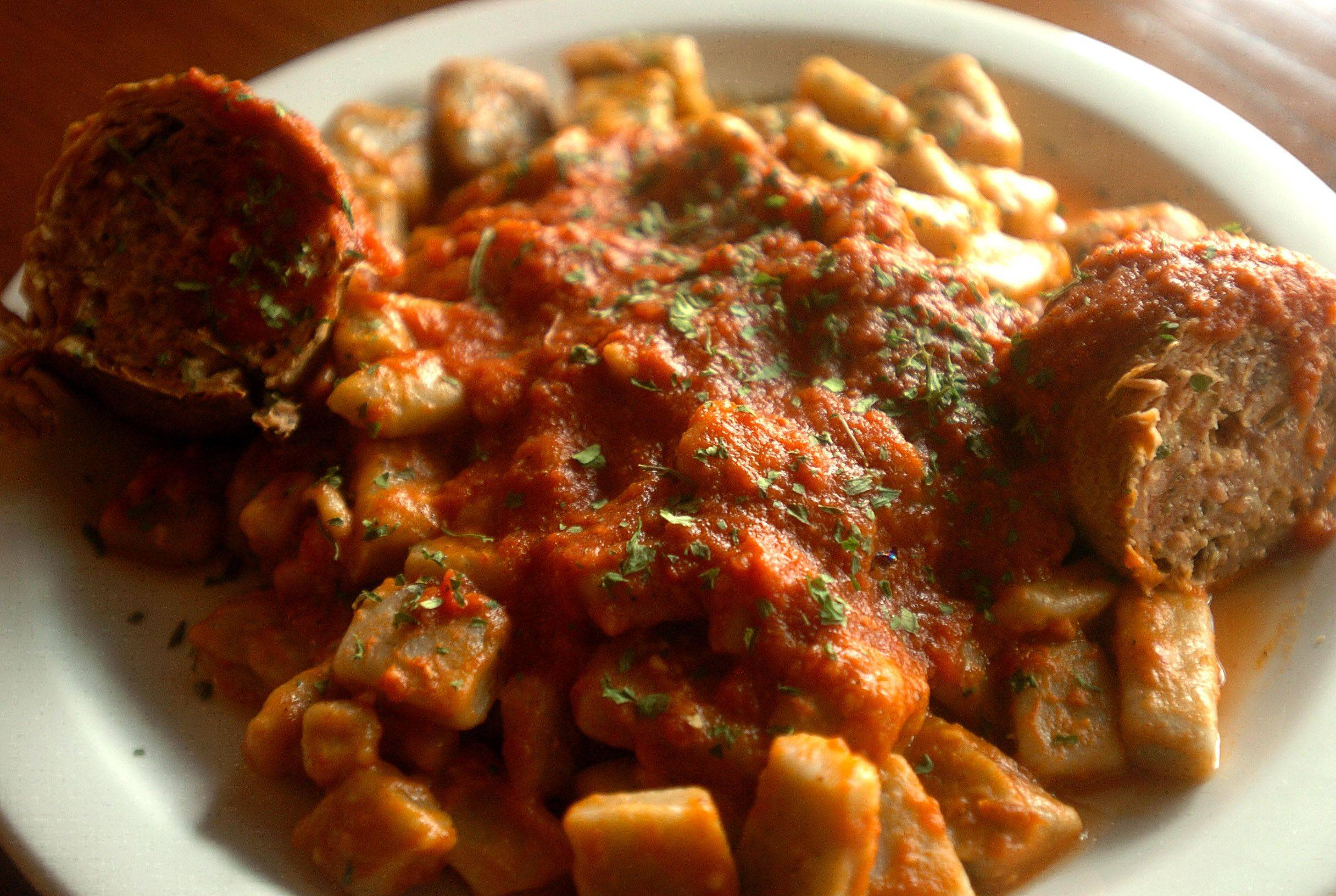 Fantastico's gnocchi with braciola helps the Batavia restaurant justify its name.