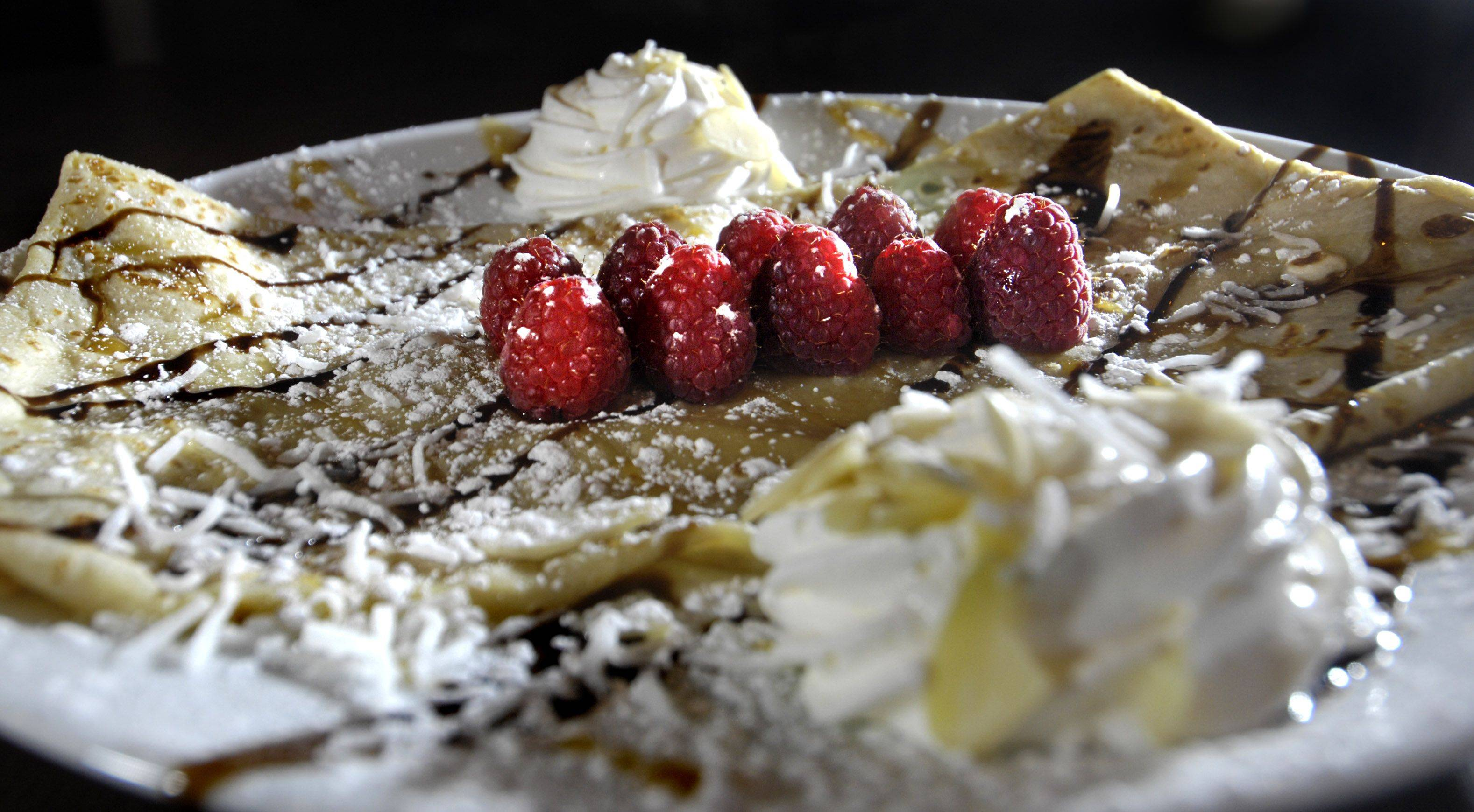 Follow a savory dinner with sweet crepes at The Creperie Normande in Algonquin.