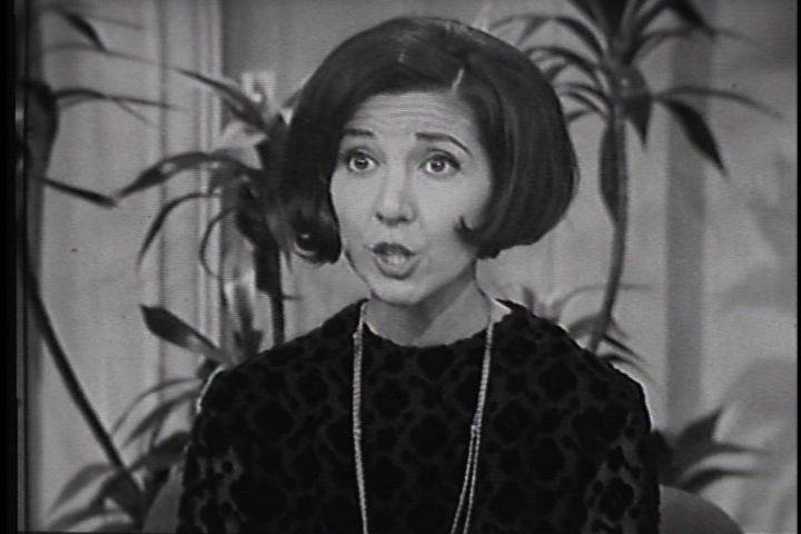 "Sounding and looking like a young girl, Mona Abboud of Sleepy Hollow sings her request on ""The Tonight Show with Johnny Carson"" for Santa to bring her ""The Pretty Little Dolly."" That show aired on Dec. 15, 1966, but Abboud's performance is the chosen clip used to lure visitors to the new www.JohnnyCarson.com website."