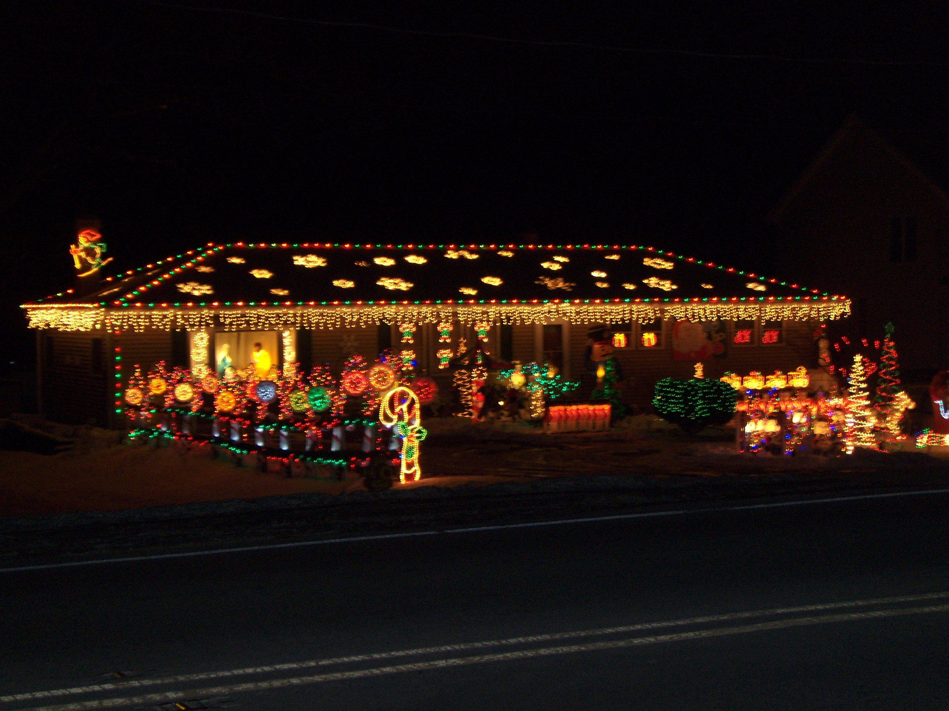 Ron and Joanne Sarnecke pulled out all the stops at 493 N. Columbine Ave. in Lombard.