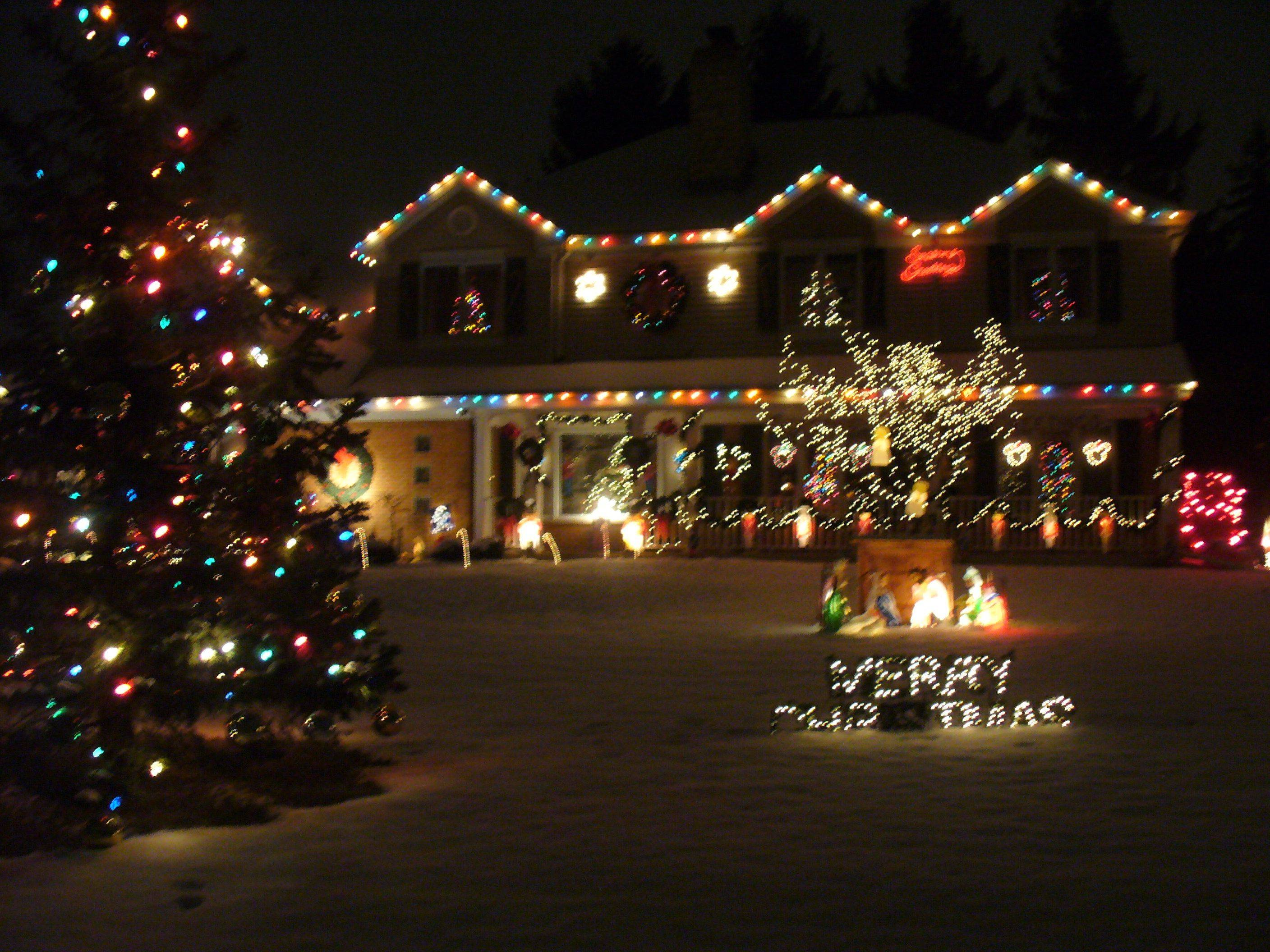 It's truly a Winter wonderland at Marianne and Doug Winter's home at 1521 Dun Lo Drive in Arlington Heights.