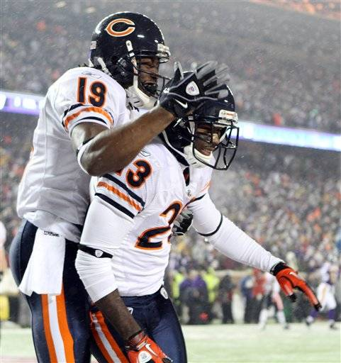 Bears put NFC North championship on ice