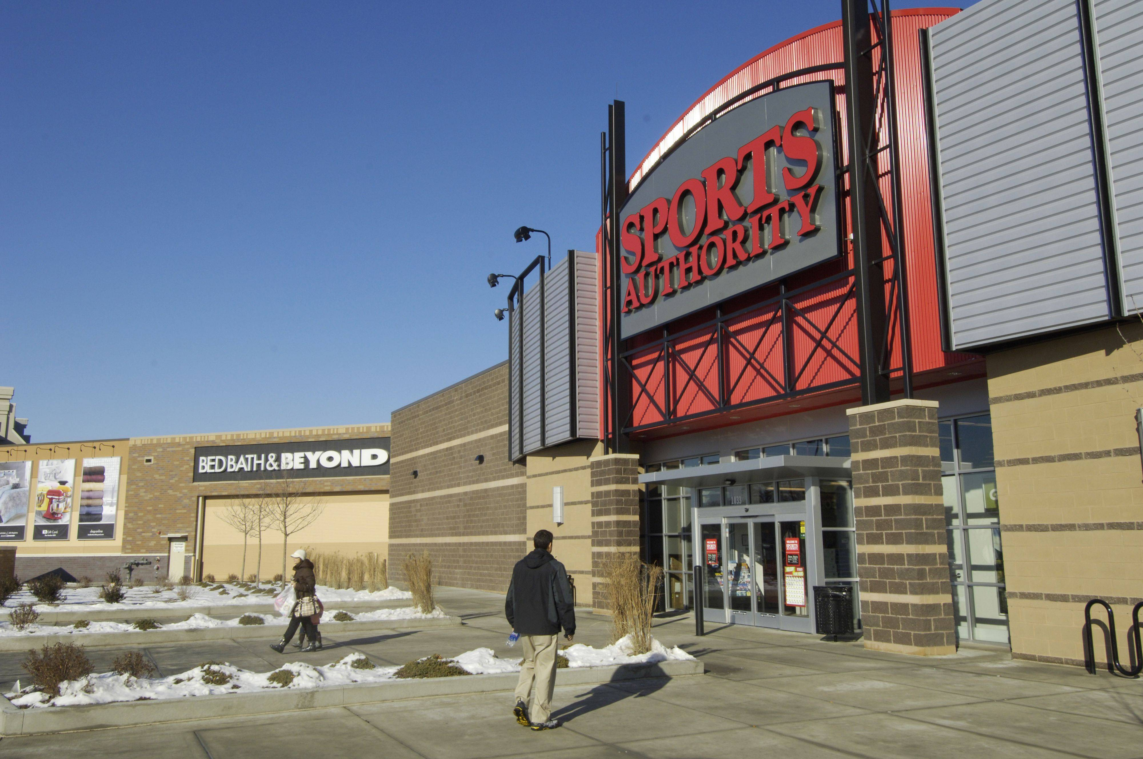 Sports Authority, one of about 10 anchor stores at Randhurst Village in Mount Prospect, opened in August at the complex. Developers say most of the stores at the center are on track to open next year.