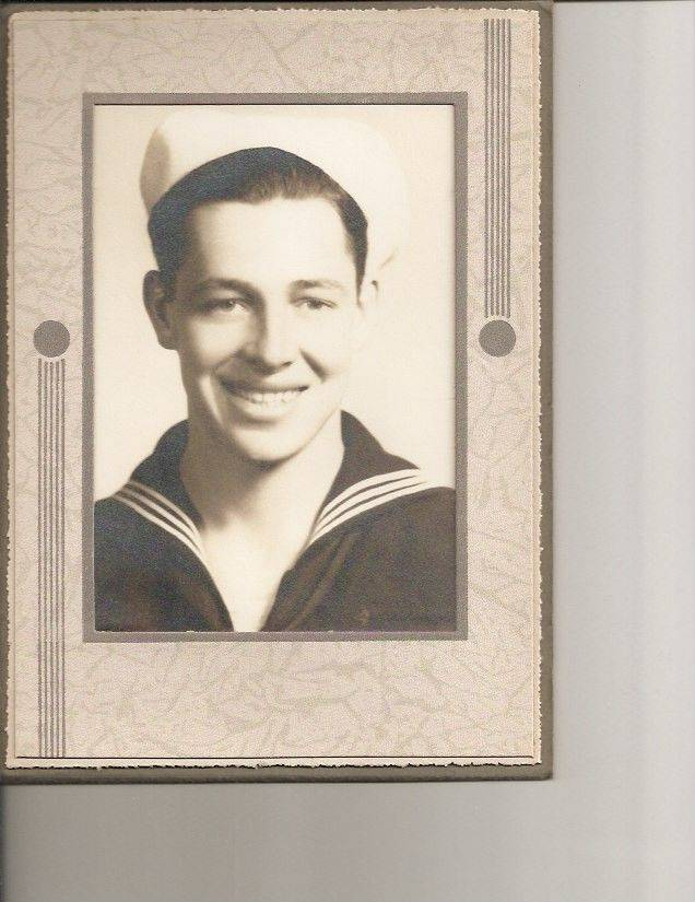 John Spartz, during his Naval service during World War II