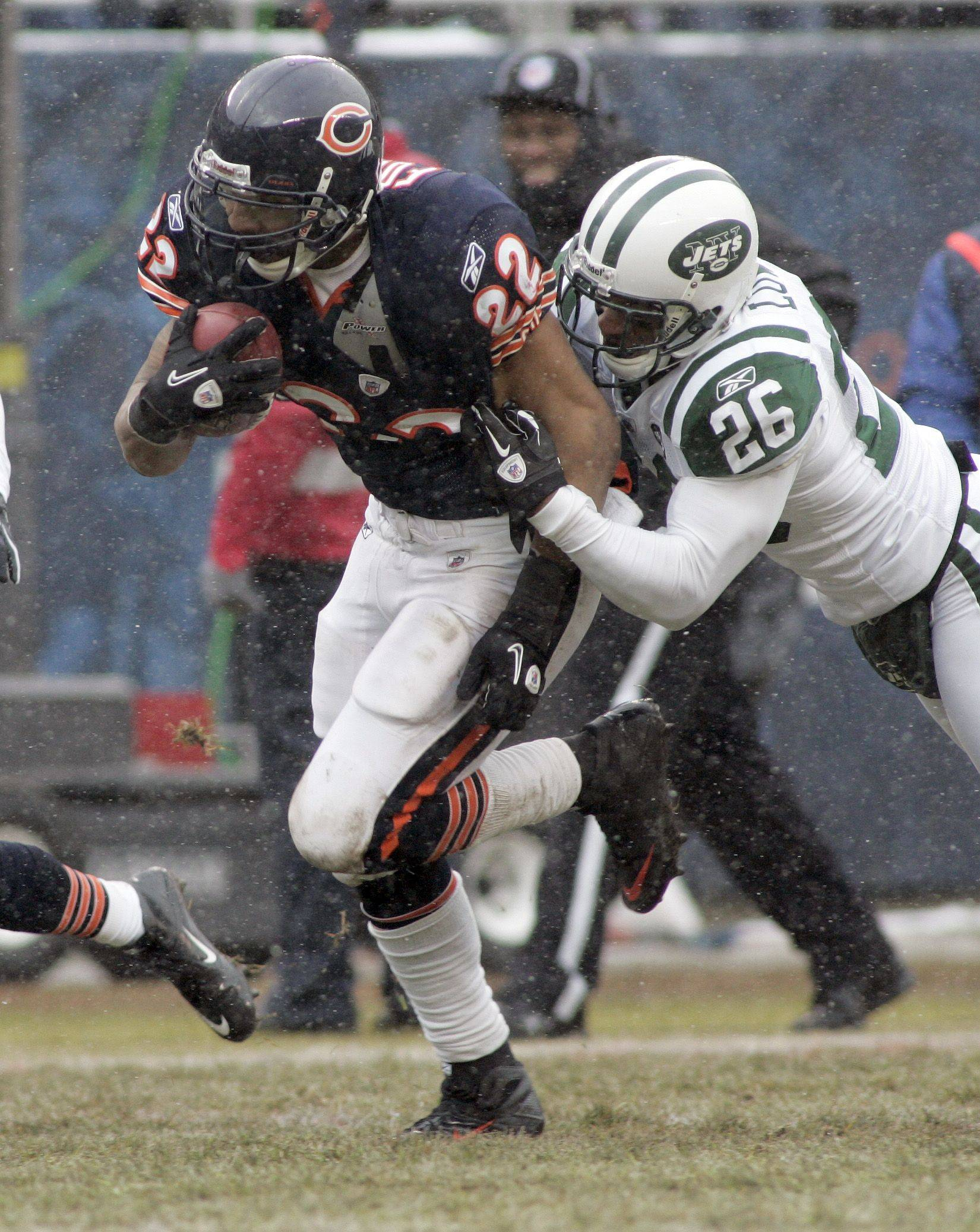 Forte continues hot streak in win over Jets