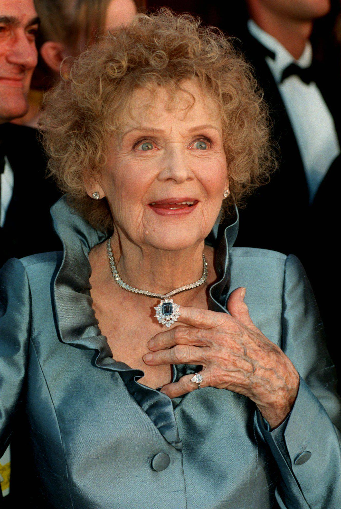 Actress Gloria Stuart died Sept. 26, 2010.