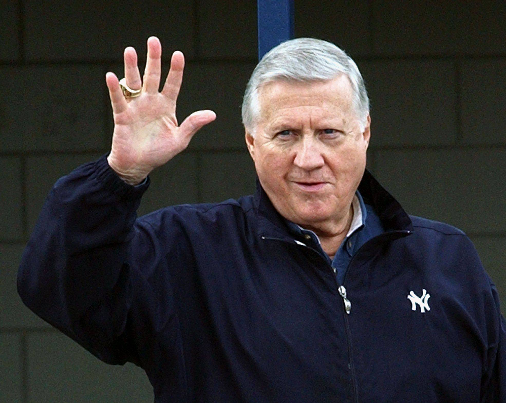 New York Yankees owner George Steinbrenner died July 13, 2010, just after celebrating his 80th birthday.