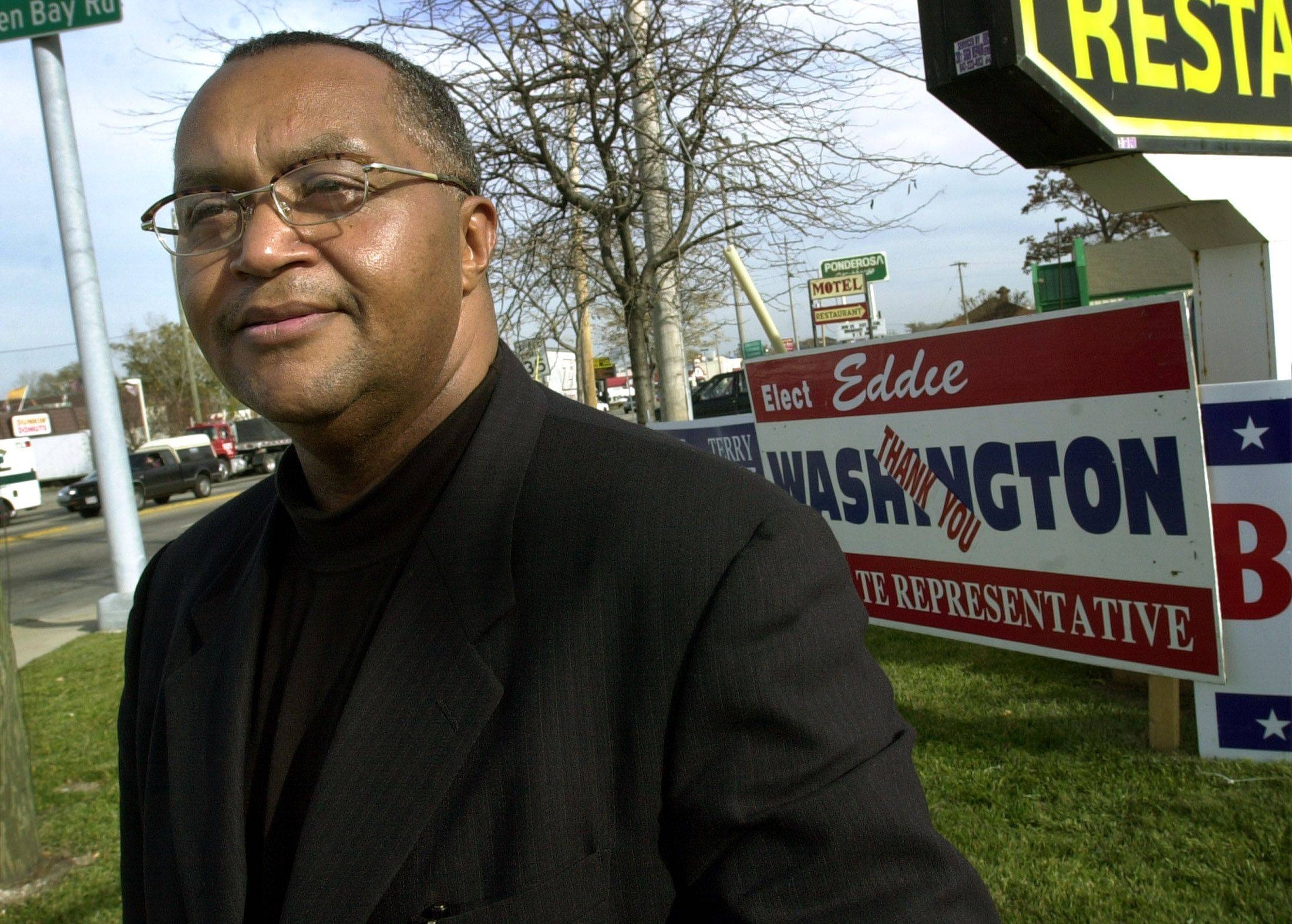 Eddie Washington, representative in the 60th Illinois House District, died of a heart attack on June 4.