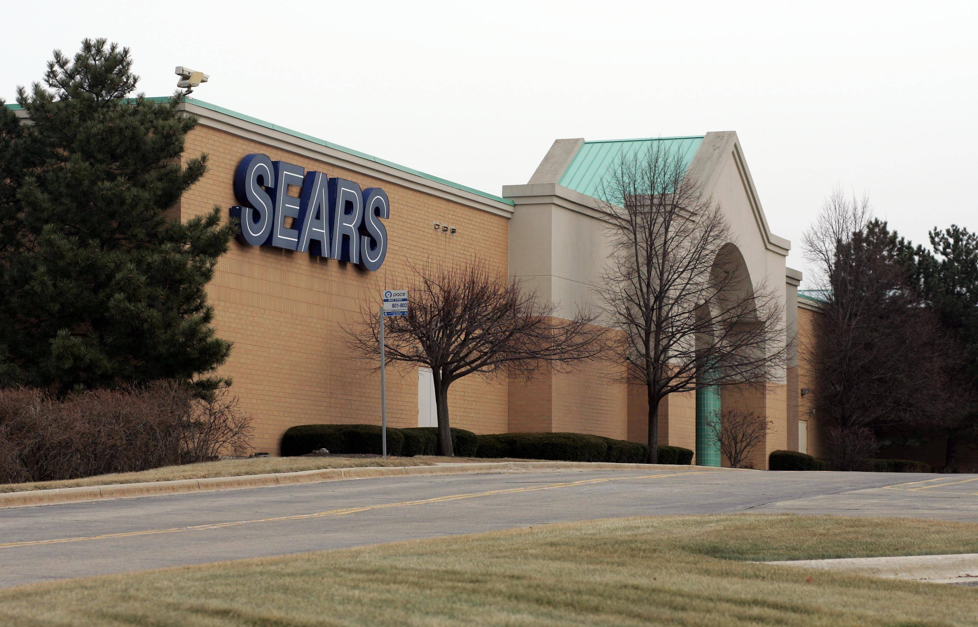 Sears officials said they are closing the store at Charlestowne Mall in St. Charles in late March.