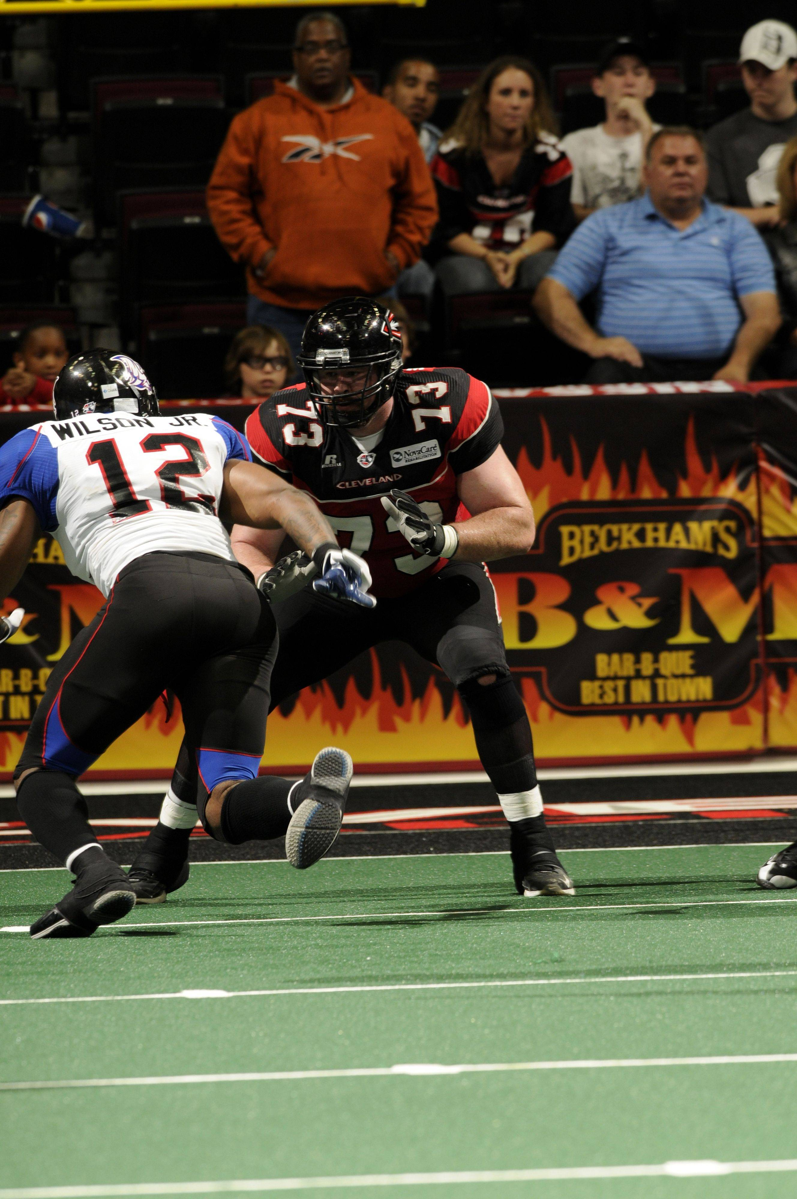 After playing with Cleveland and Grand Rapids, offensive lineman TJ Watkins has signed with the Chicago Rush.