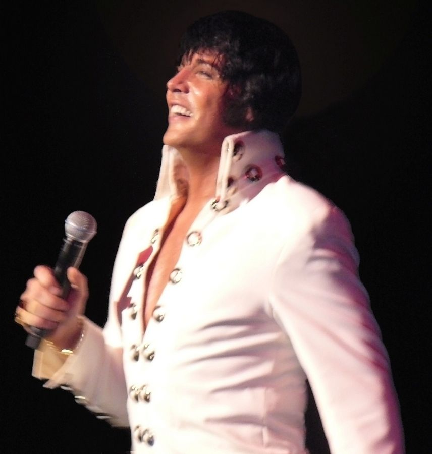 Elvis impersonator Shawn Klush