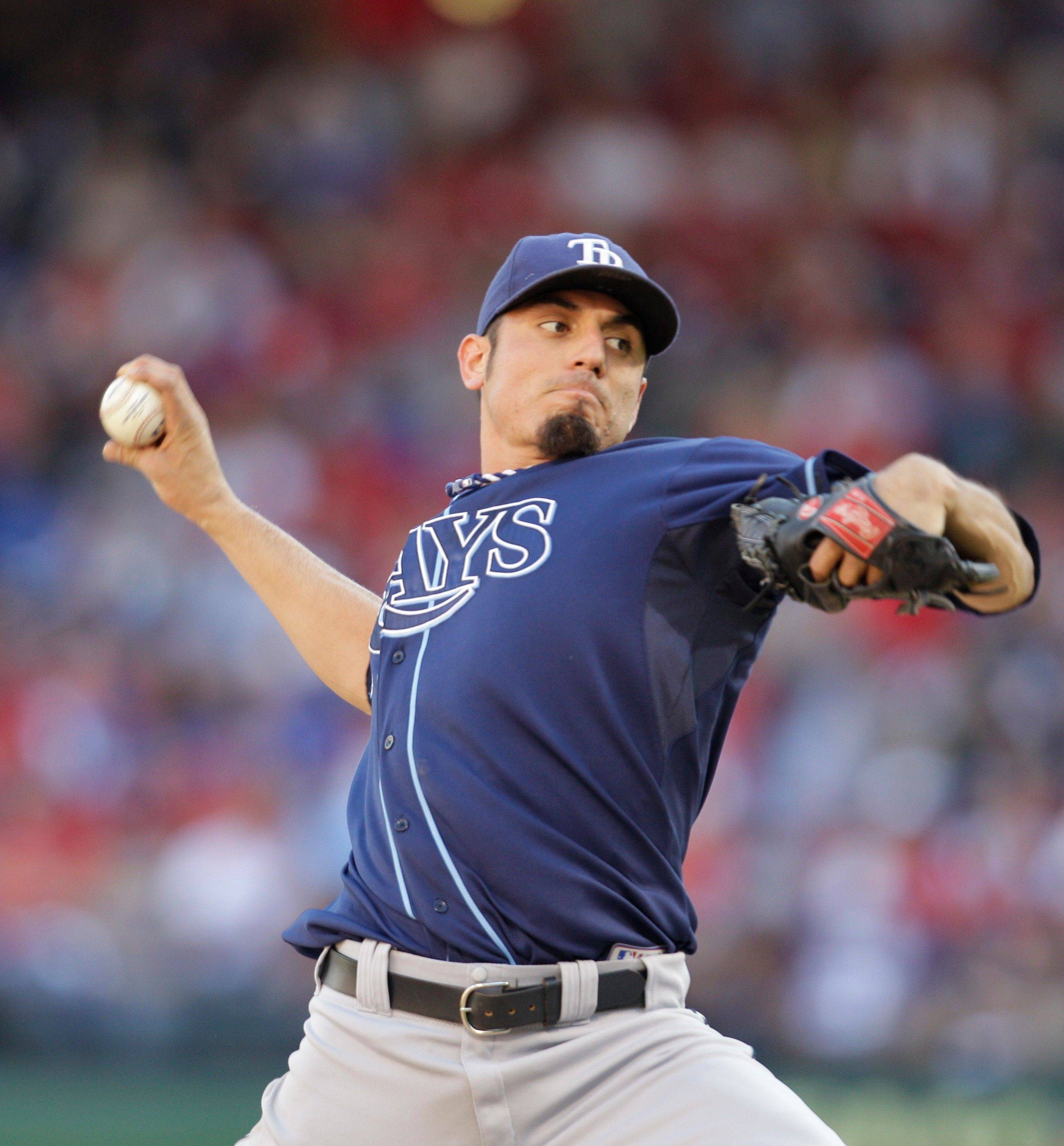 The Cubs gave up several prospects for Tampa Bay Rays starting pitcher Matt Garza, who won 15 games last season.
