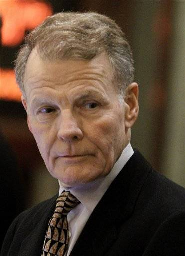 Chicago Democrat Michael Madigan returns as House speaker.