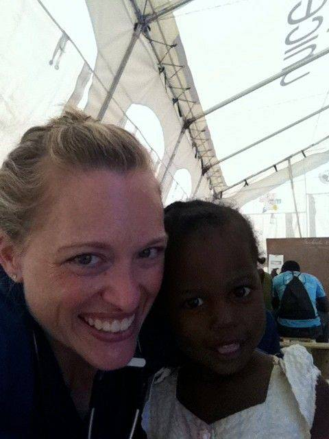 Dr. Melody Derrick and a team of volunteers from Central DuPage Hospital recently spent a week providing medical care in Haiti.