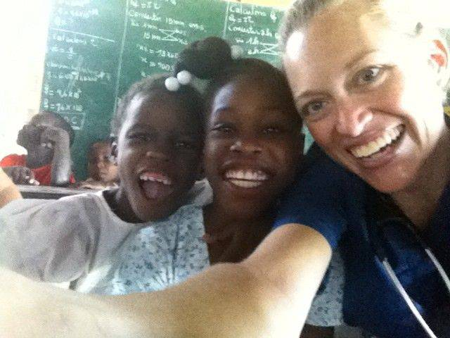 """The kids were happy and fun and excited to see us,"" said Melody Derrick, one of four Central DuPage Hospital physicians who recently spent a week in Haiti."