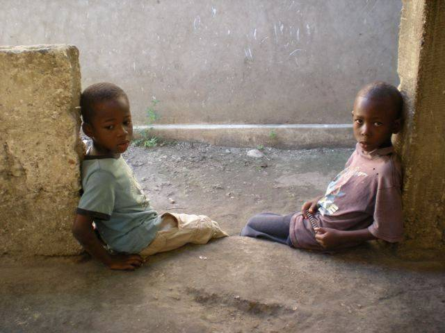 "Seeing the plight of Haiti's children ""really kind of pulled at your heartstrings,"" Dr. Melody Derrick said."