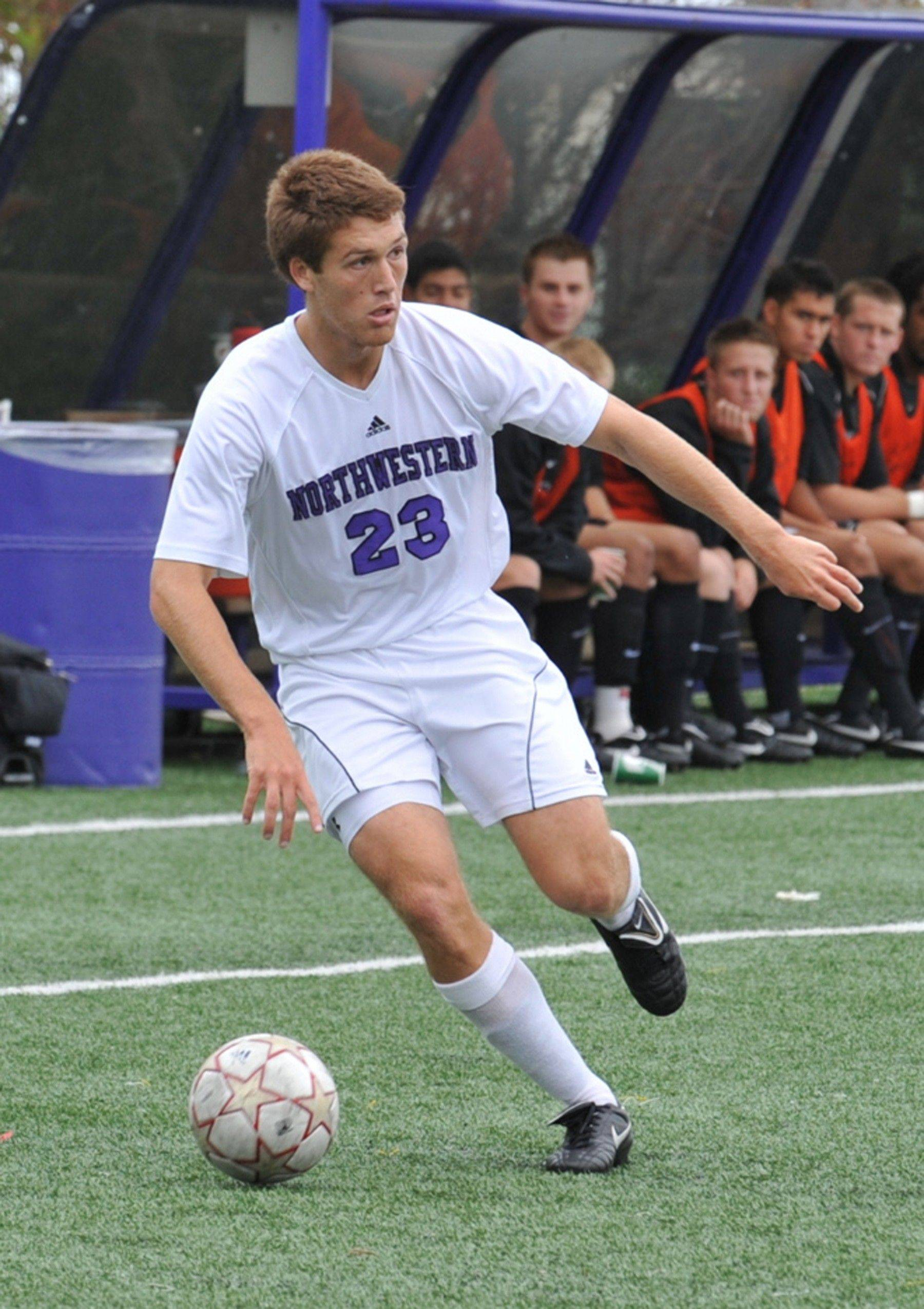 Matt Eliason finished his soccer career at Northwestern University's all-time leading scorer with 33 goals. Now the former Glenbard East soccer star is hoping to get noticed by MLS scouts and coaches. He was invited to last week's combine.