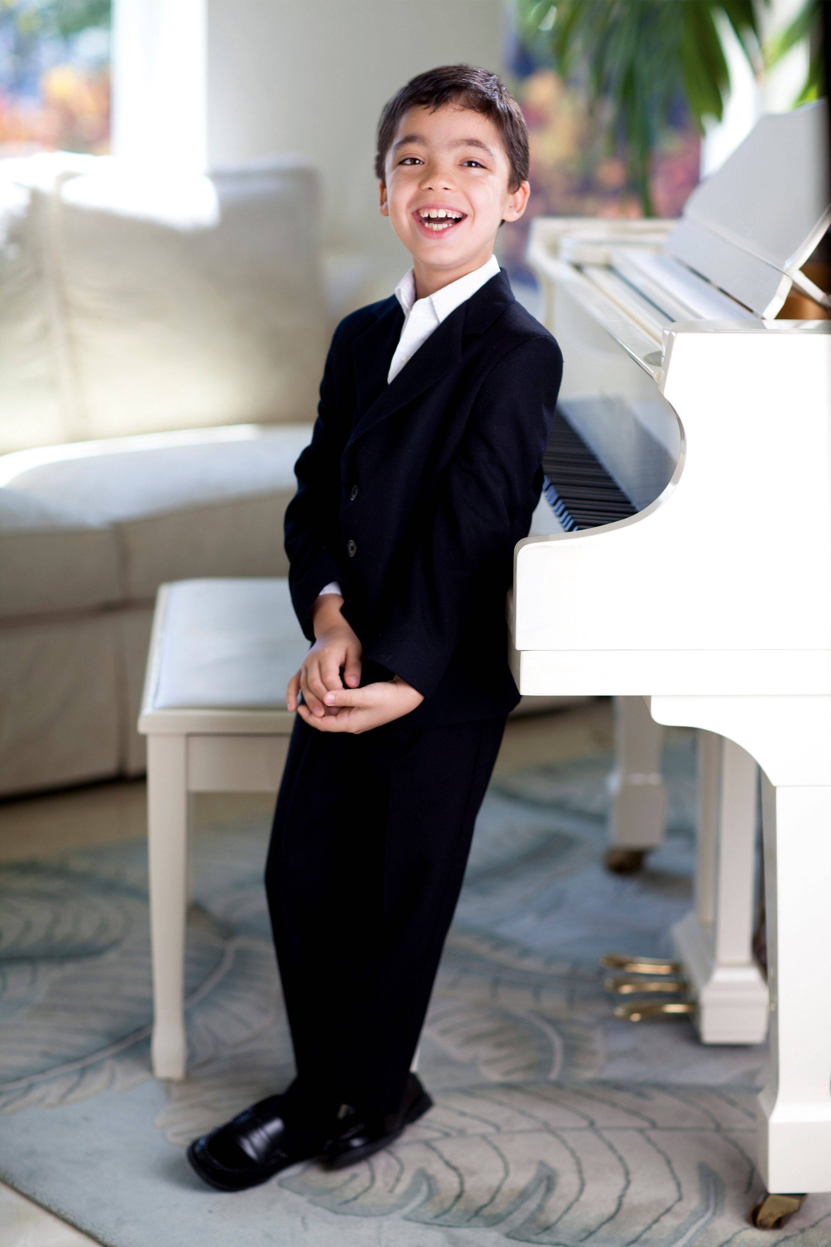 Piano prodigy Ethan Bortnick performs Friday at North Central College in Naperville.