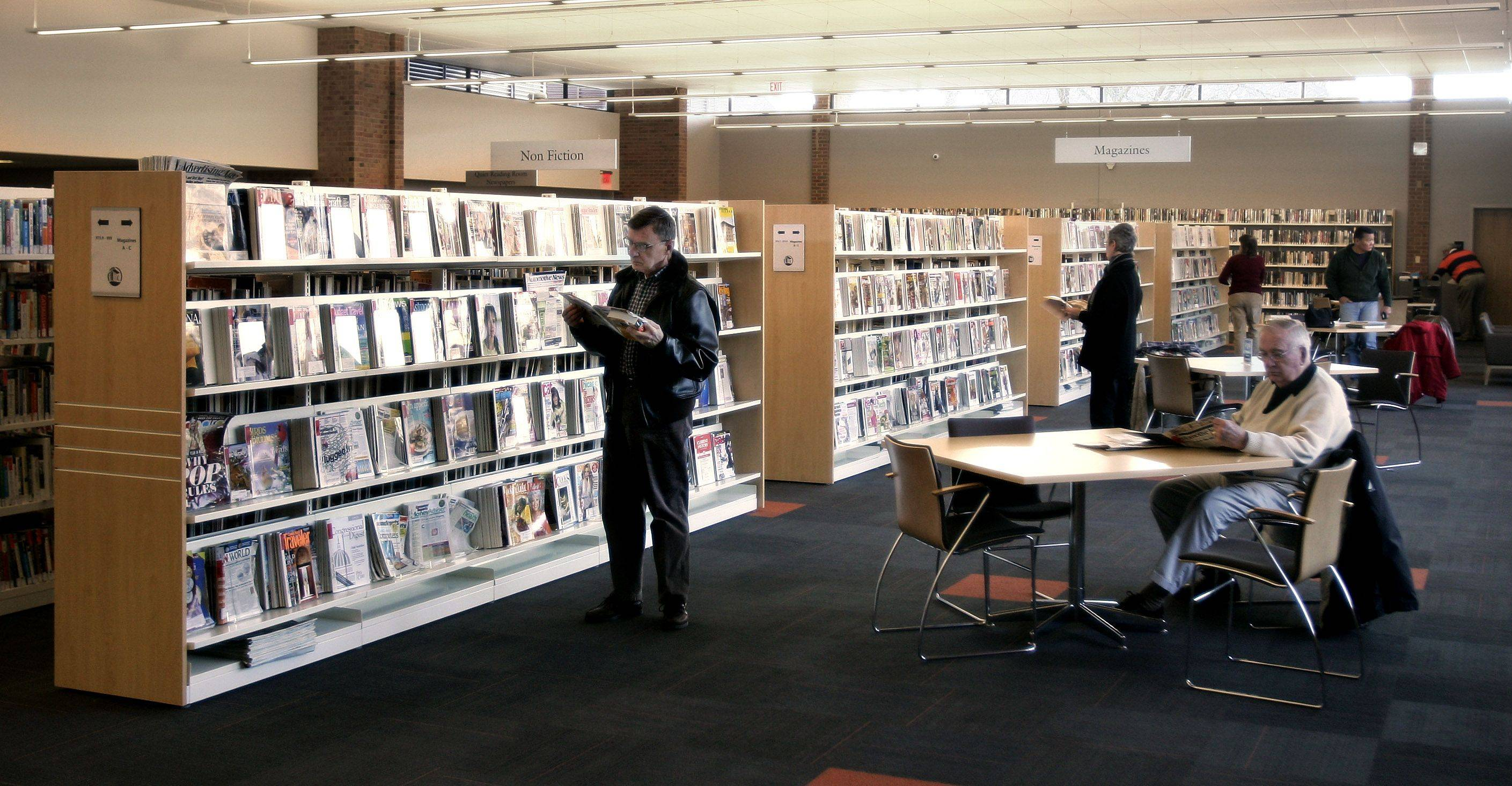 Libertyville's newly remodeled library, by the numbers