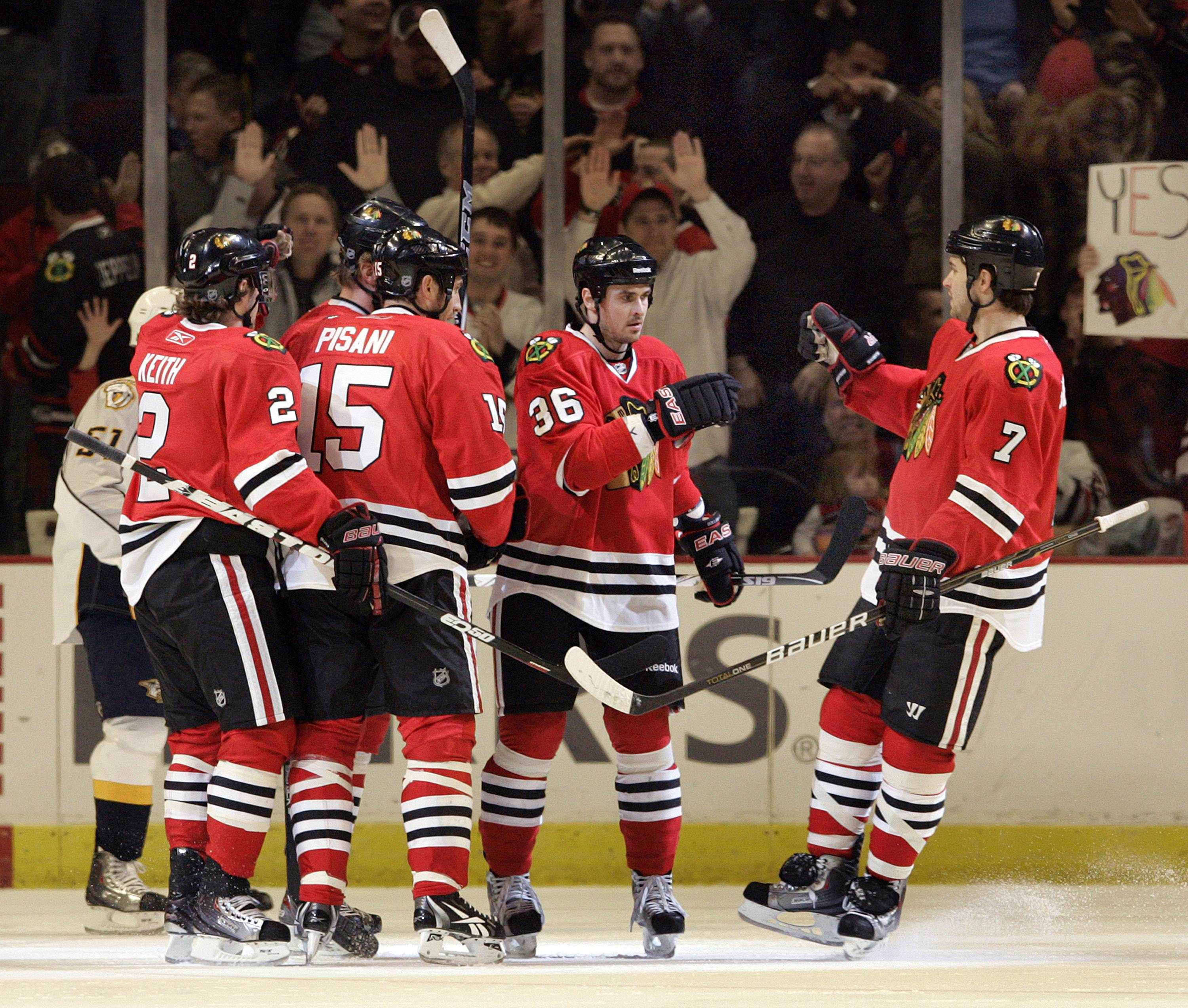 Blackhawks respond after leaders speak up