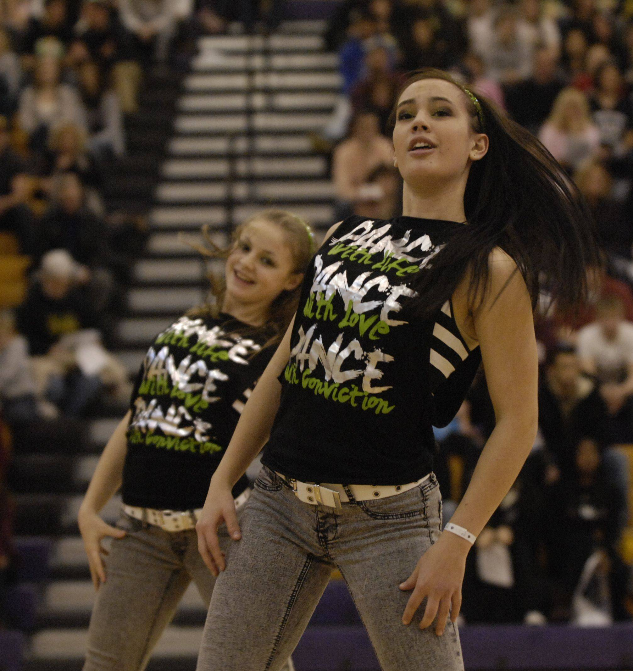 Grant High School AA Hip Hop, performs at the Team Dance Illinois Wauconda Invitational competition at Wauconda High School.