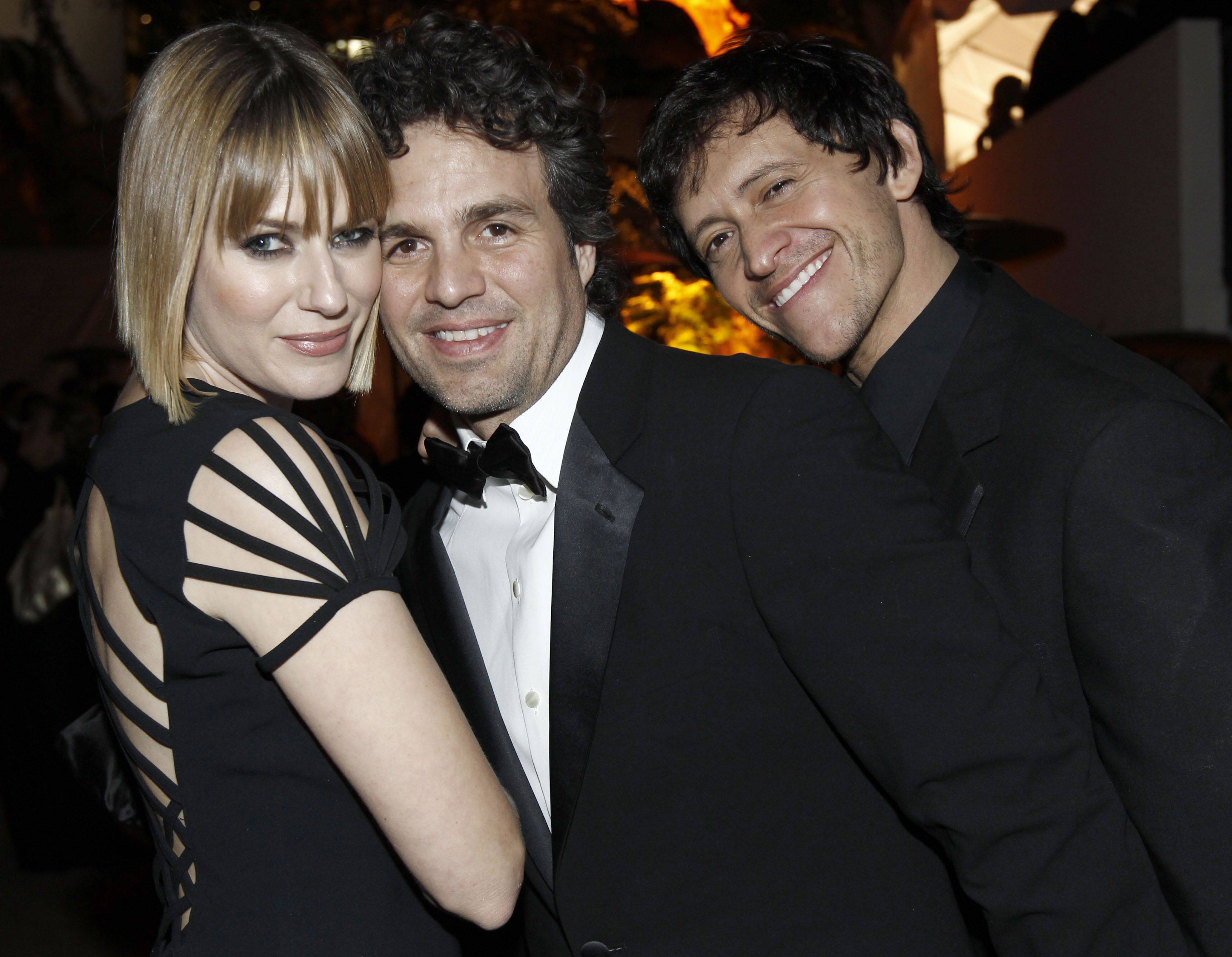 Left to right, Sunrise Coigney, Mark Ruffalo and Clifton Collins Jr.