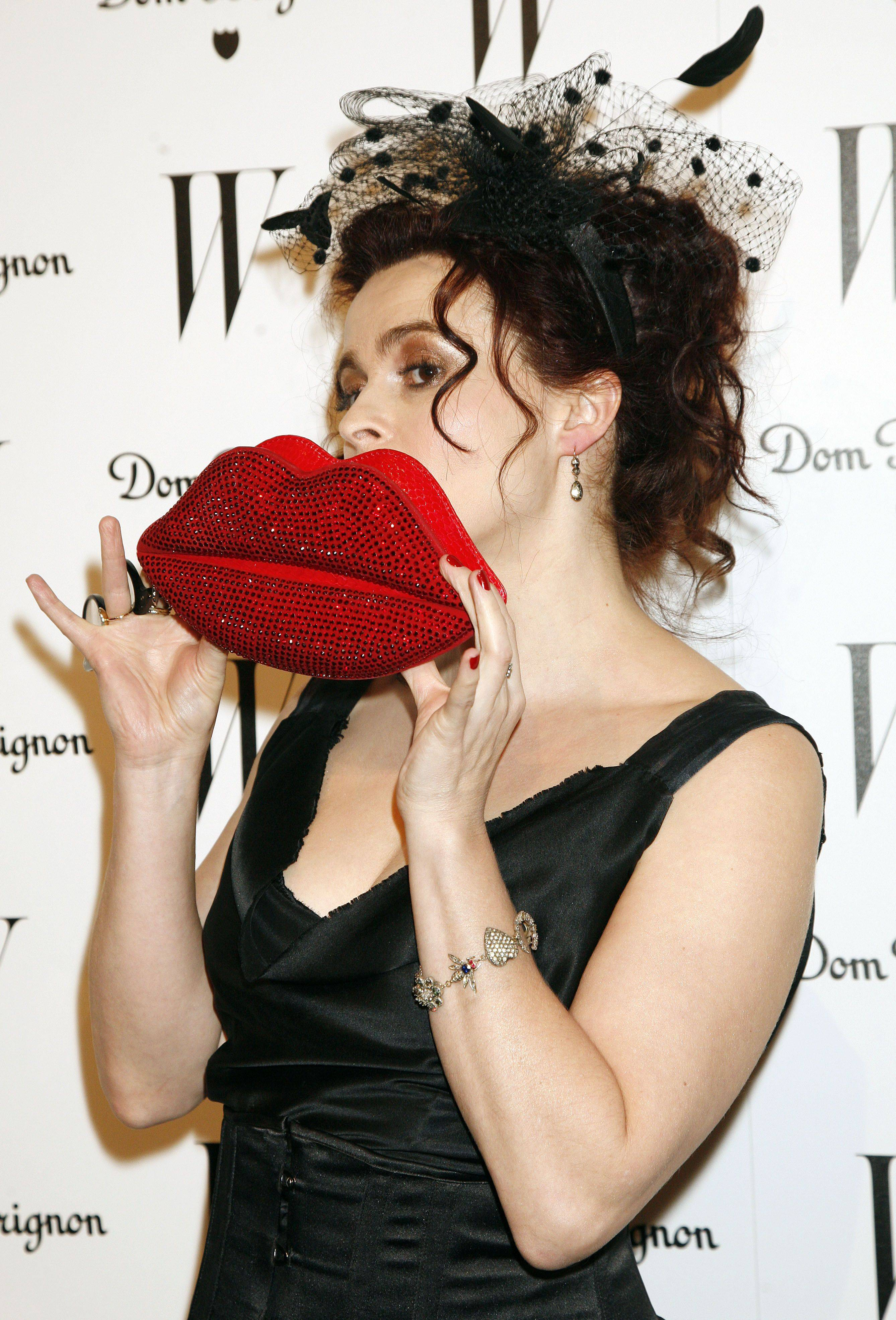 "Actress Helena Bonham Carter, who was nominated for best supporting actress for her role in ""The King's Speech."""