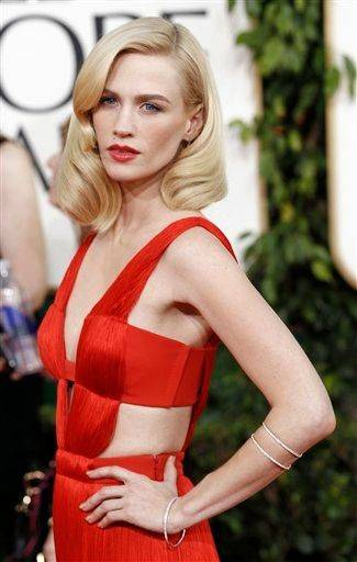 Actress January Jones.
