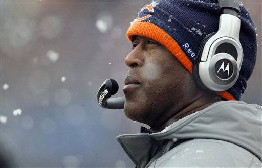 Lovie: Not a lot of love coming from up north