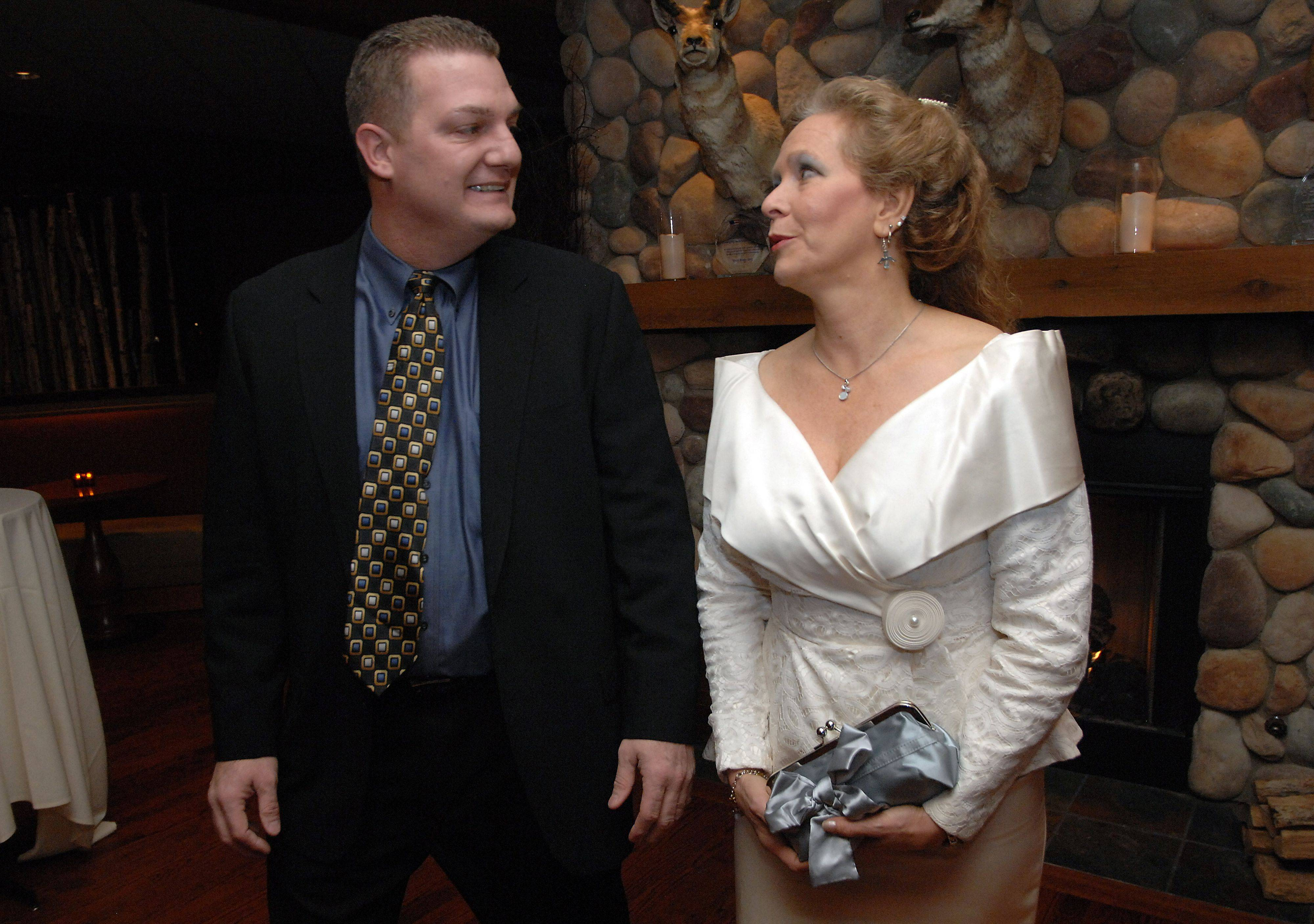 "The theme was ""It's a Wonderful Life"" Thursday night when the Arlington Heights Chamber of Commerce installed Cindee Manaves as the 2011 president. Joe Favia is the outgoing president."