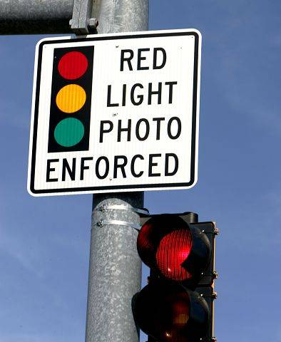 Winfield activates first red-light cameras