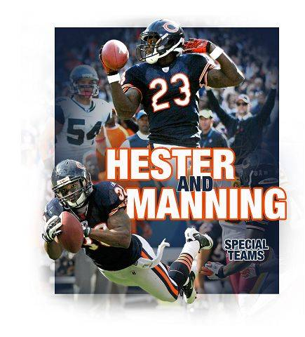 Hester, Manning could be the difference Sunday